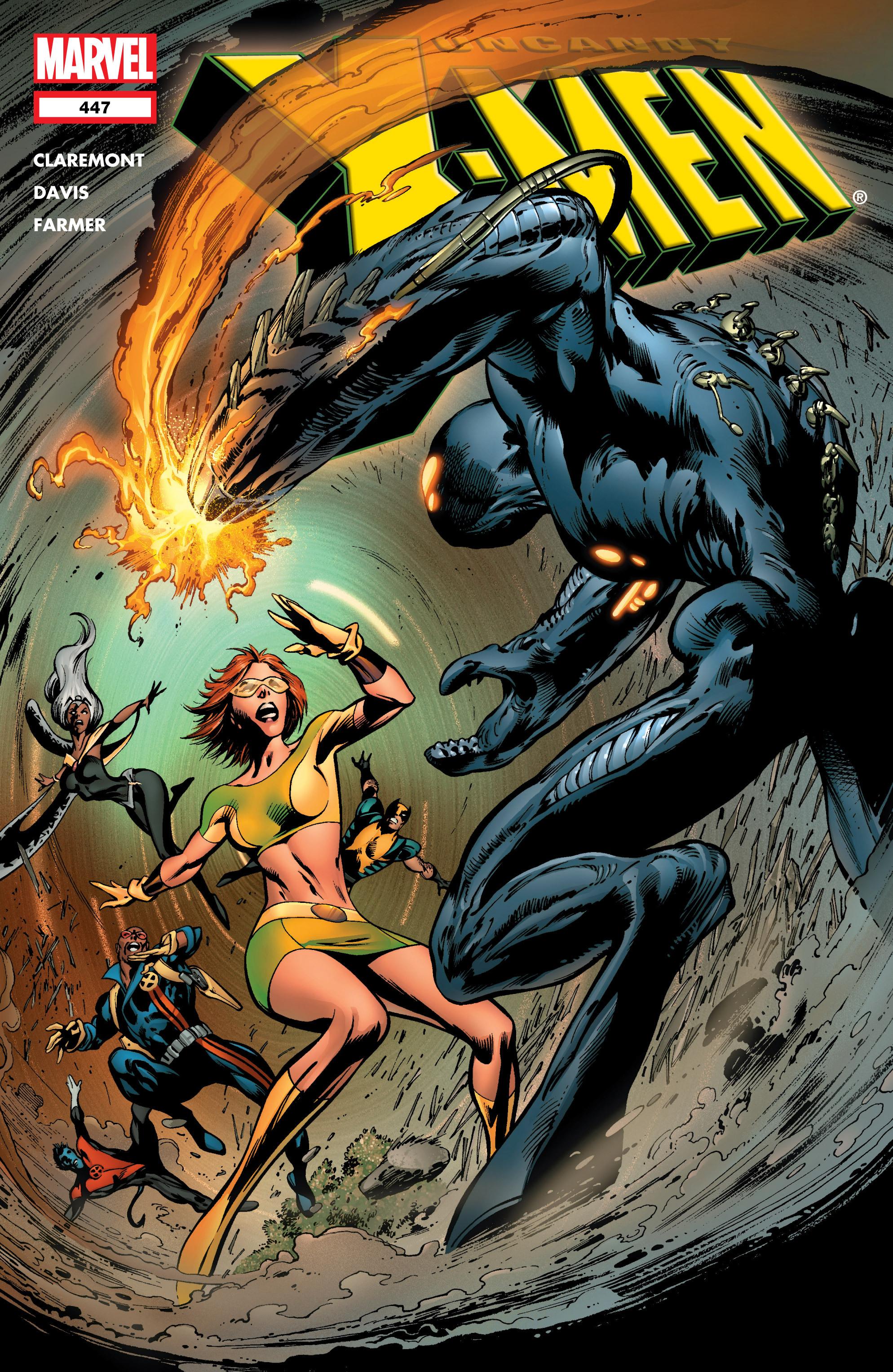 Uncanny X-Men (1963) 447 Page 1