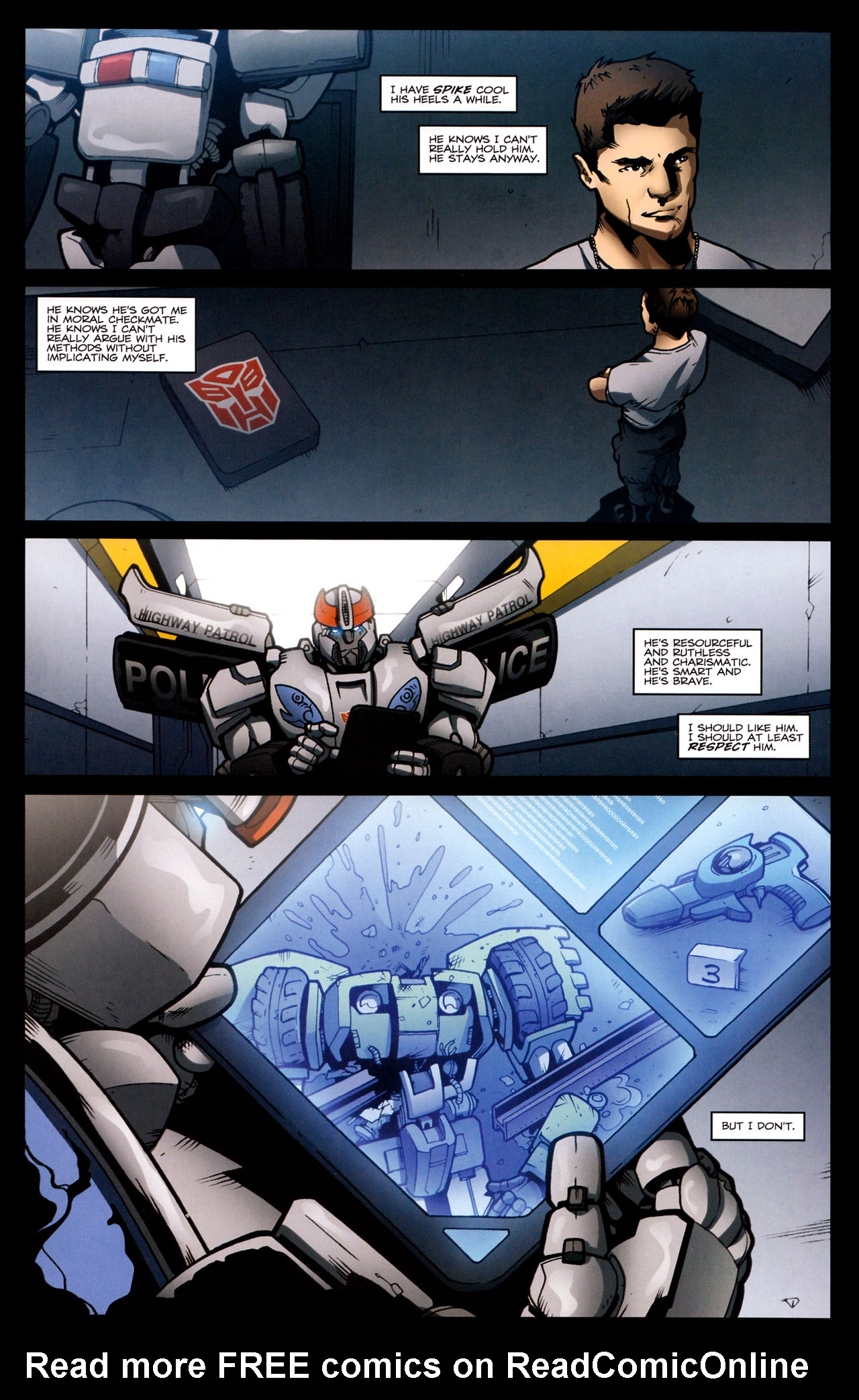 Read online The Transformers (2009) comic -  Issue #29 - 9