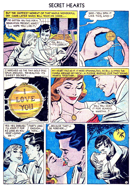 Read online Secret Hearts comic -  Issue #41 - 11