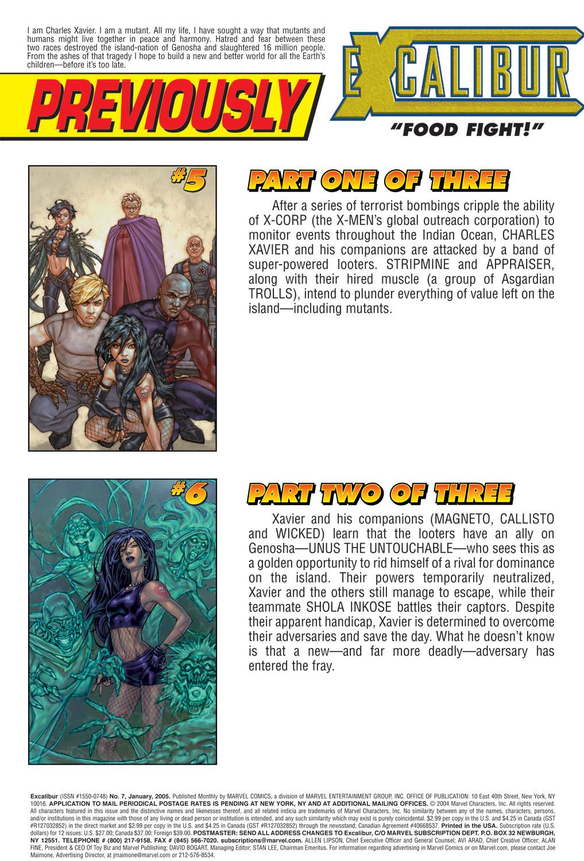 Excalibur (2004) Issue #7 #7 - English 2
