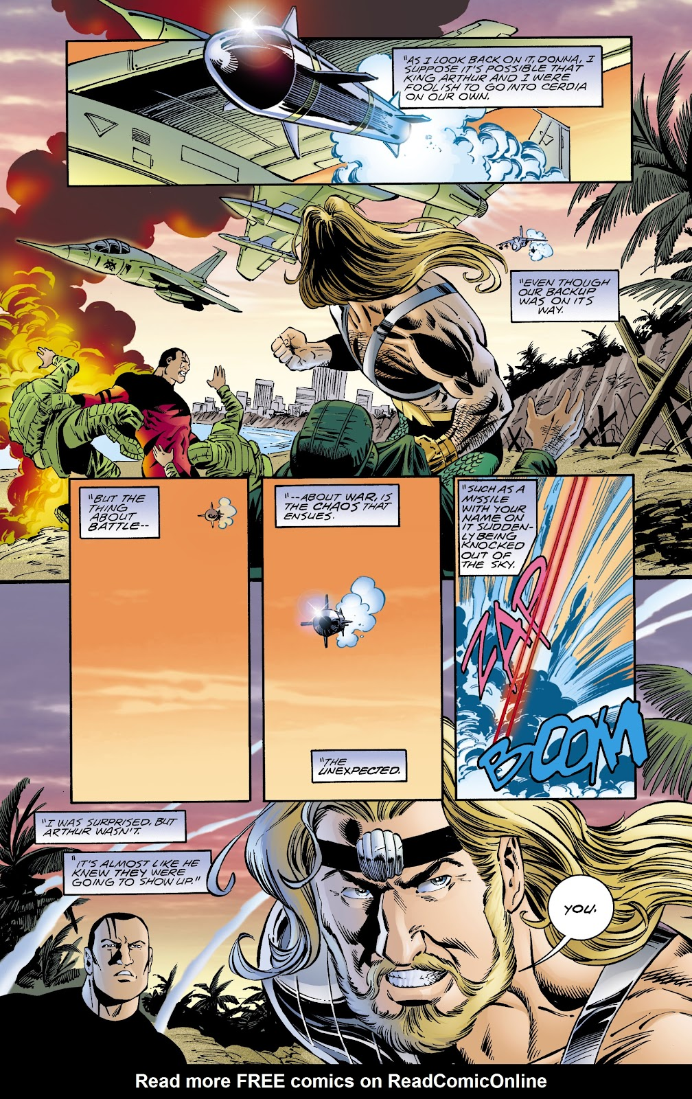 Aquaman (1994) Issue #65 #71 - English 20