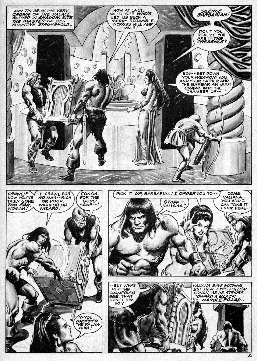 The Savage Sword Of Conan Issue #69 #70 - English 35