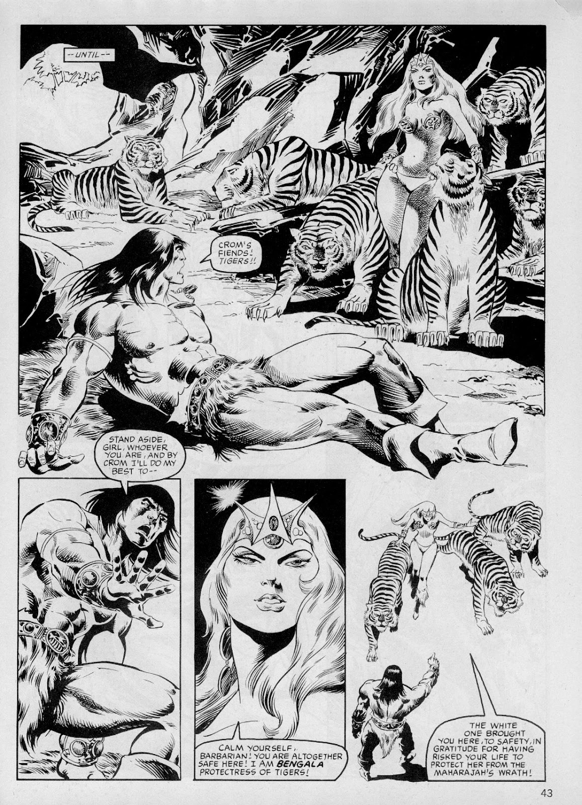 The Savage Sword Of Conan Issue #103 #104 - English 42