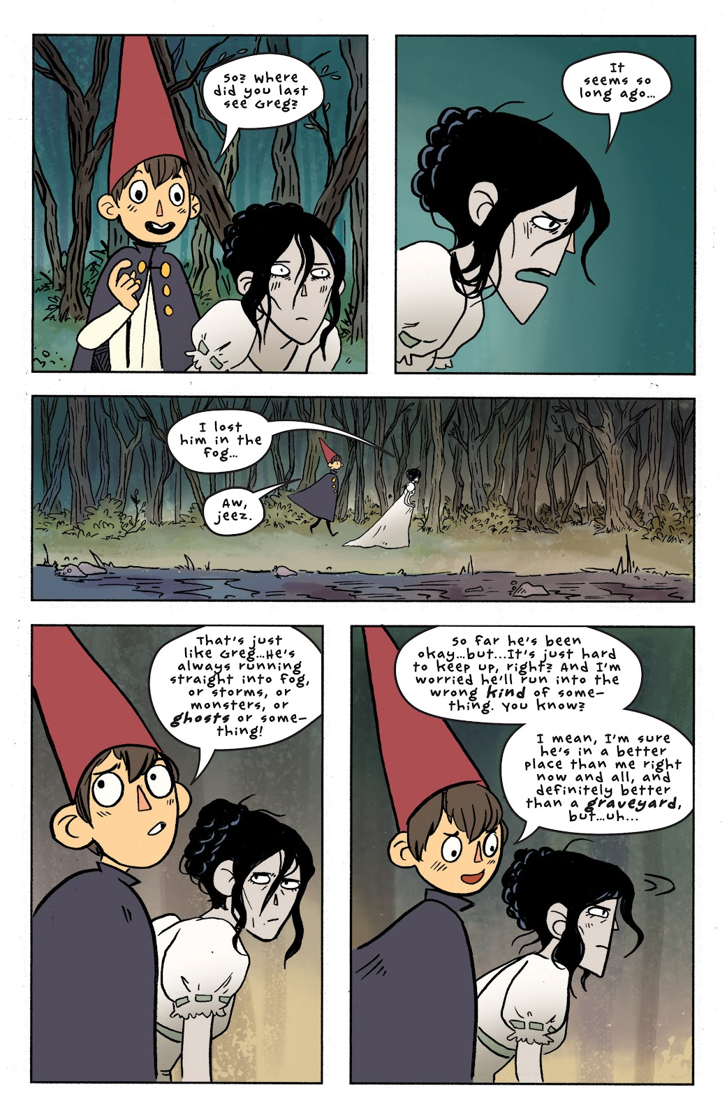Over the Garden Wall (2016) Issue #7 #7 - English 18