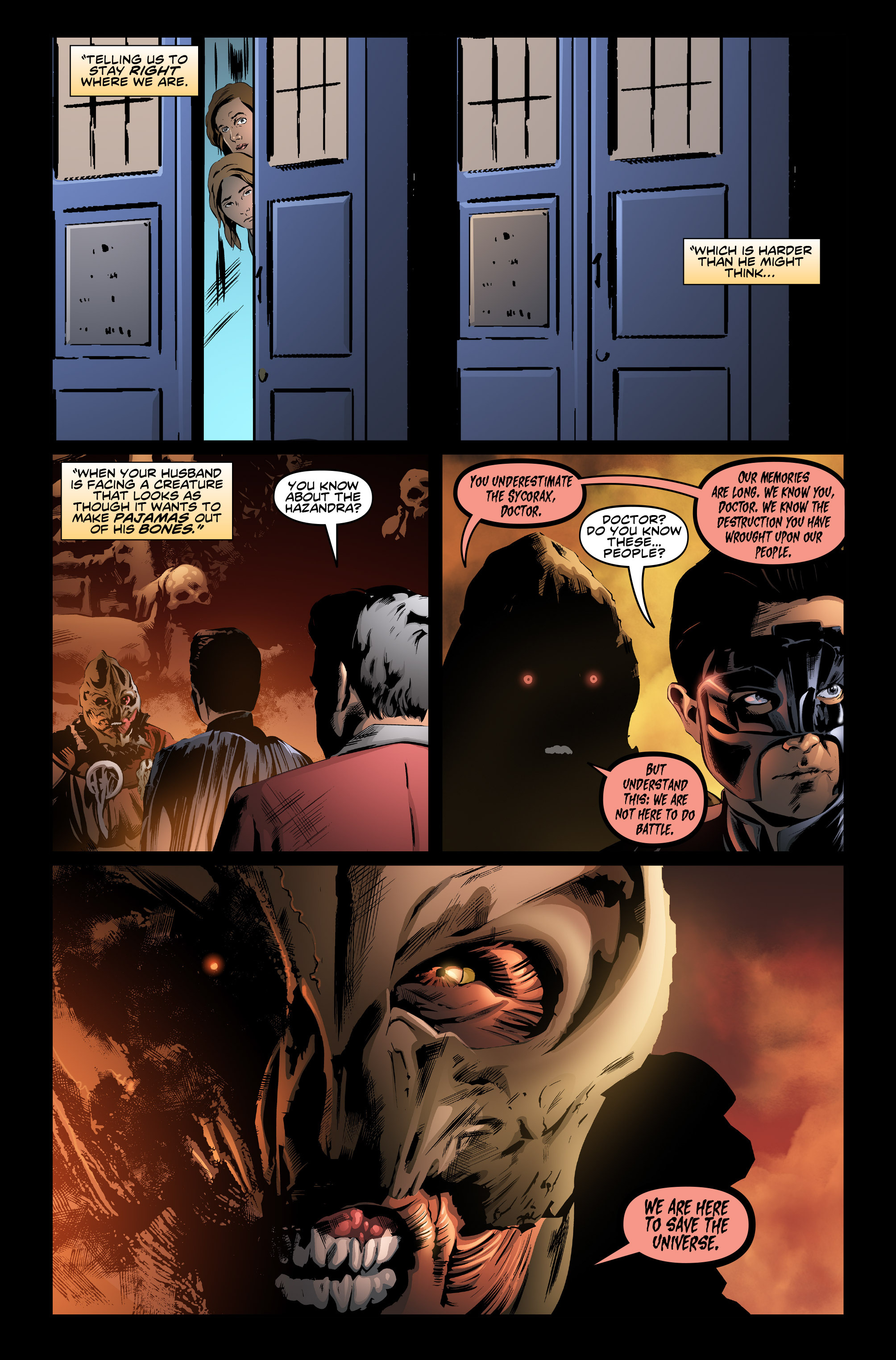 Doctor Who: Ghost Stories chap 6 pic 5