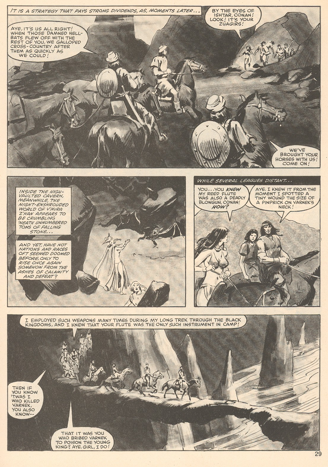The Savage Sword Of Conan Issue #76 #77 - English 29