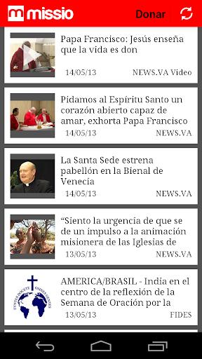 Missio aplicacion del Vaticano
