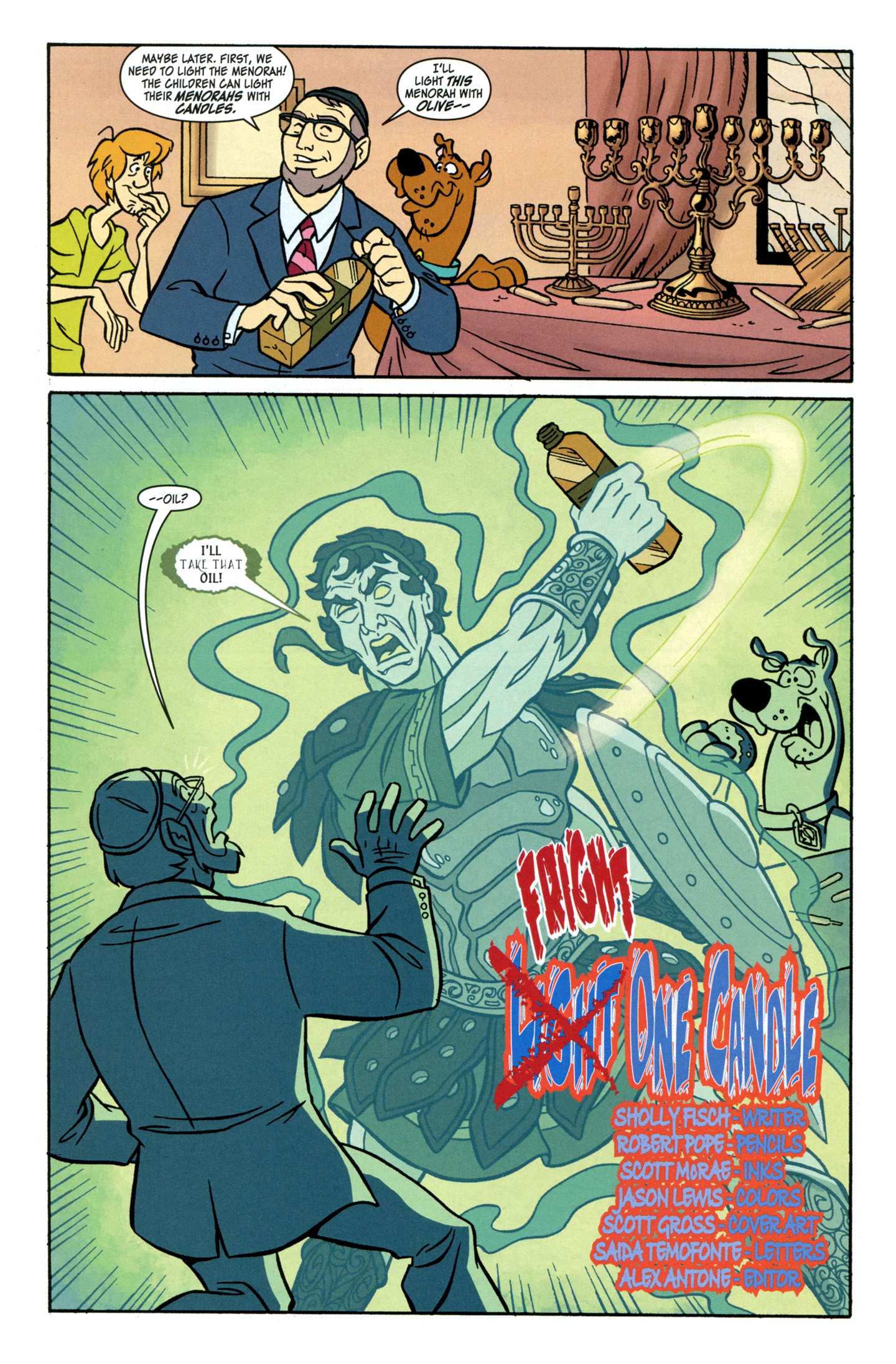 Read online Scooby-Doo: Where Are You? comic -  Issue #28 - 4