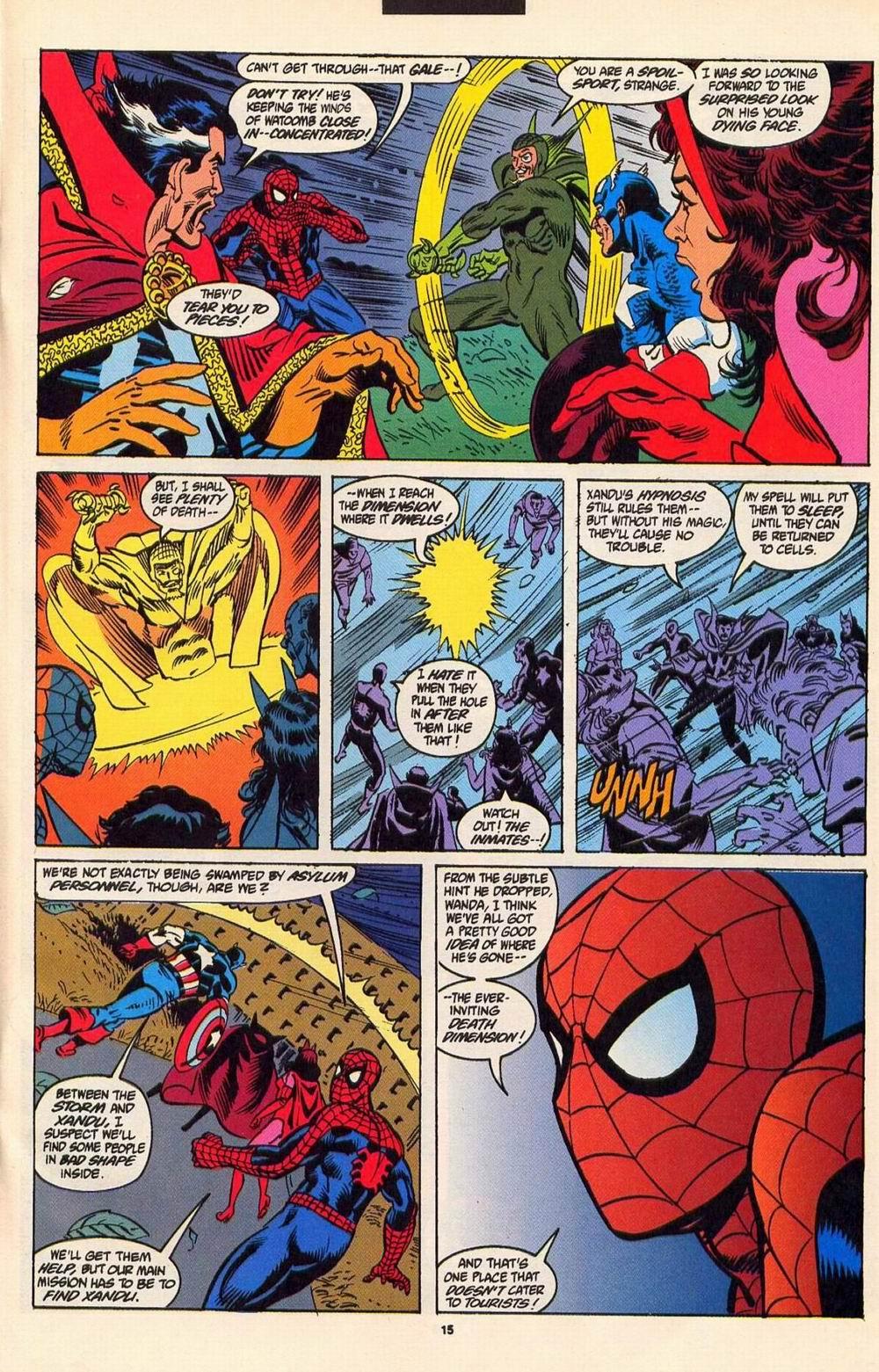 Read online Secret Defenders comic -  Issue #6 - 12