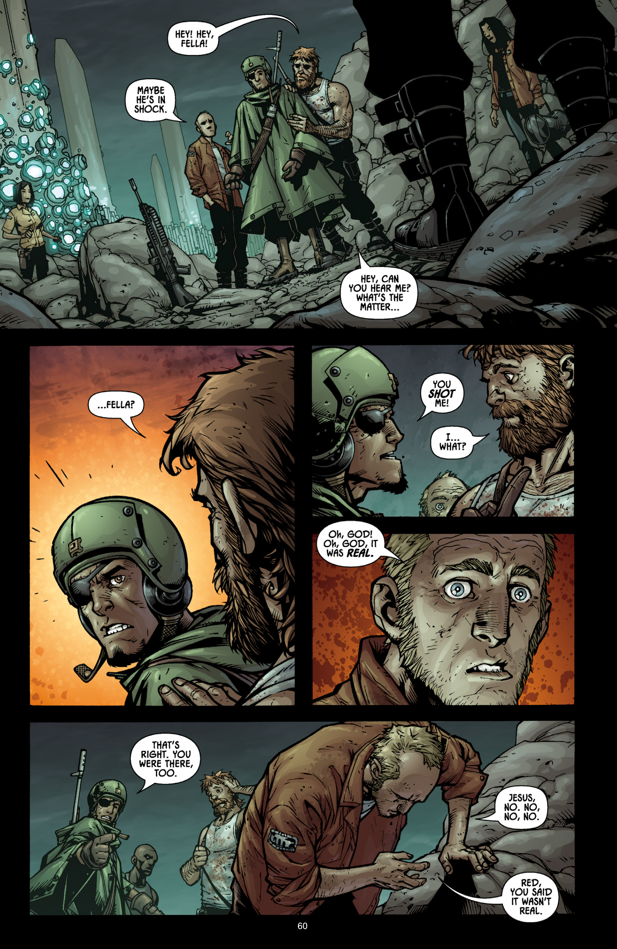 Aliens (2009) TPB Page 55