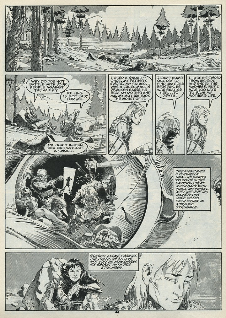 The Savage Sword Of Conan Issue #182 #183 - English 46