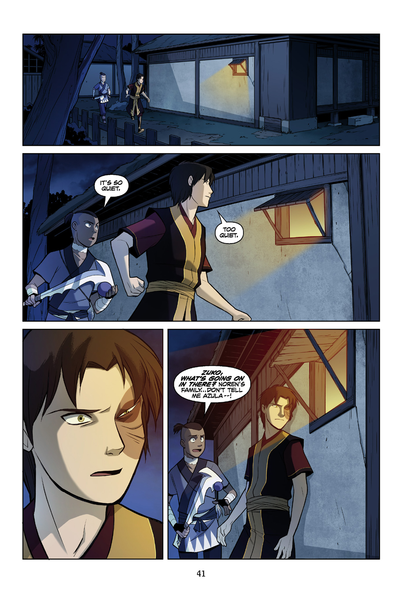 Read online Nickelodeon Avatar: The Last Airbender - The Search comic -  Issue # Part 3 - 42