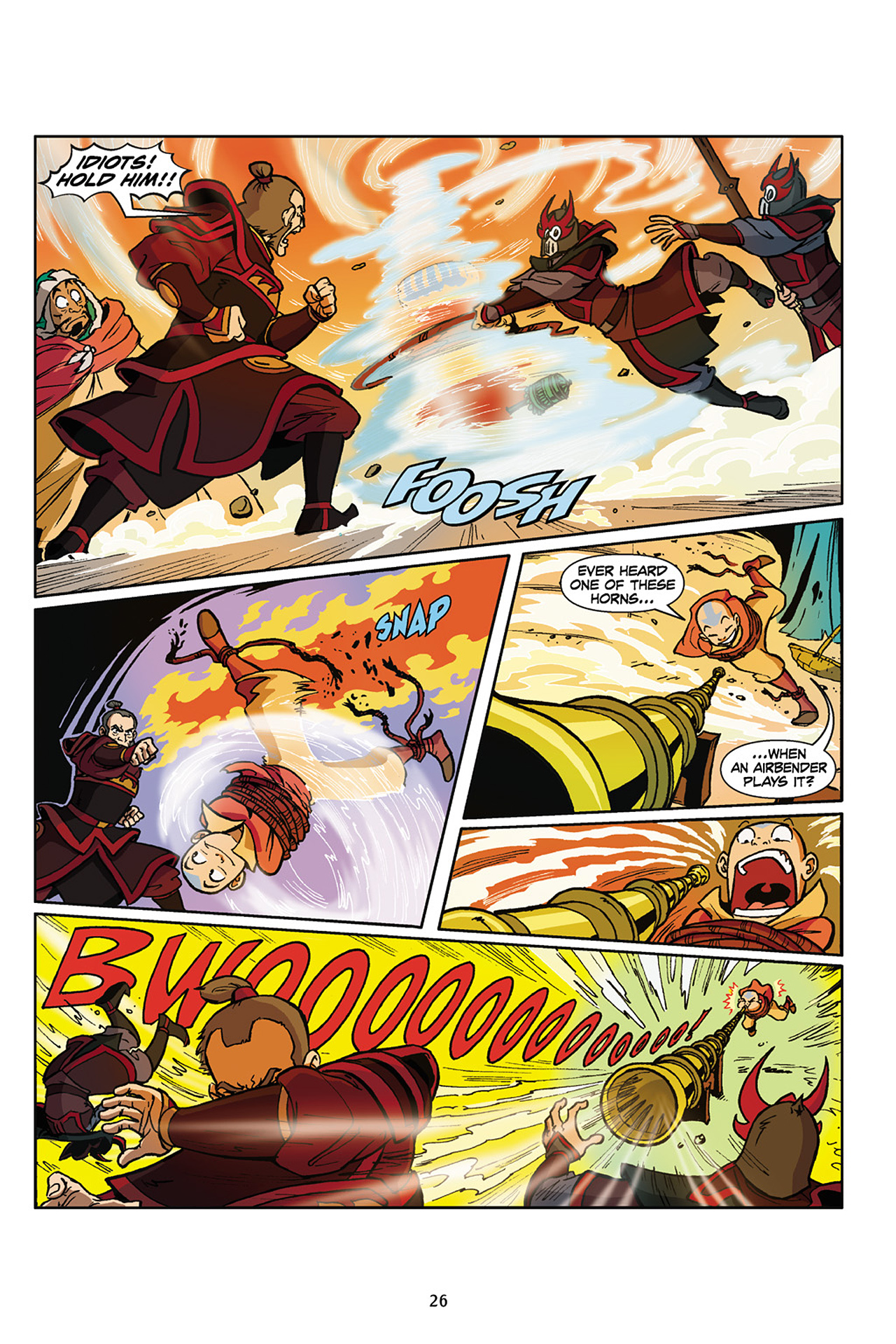 Nickelodeon Avatar: The Last Airbender - The Lost Adventures chap full pic 27