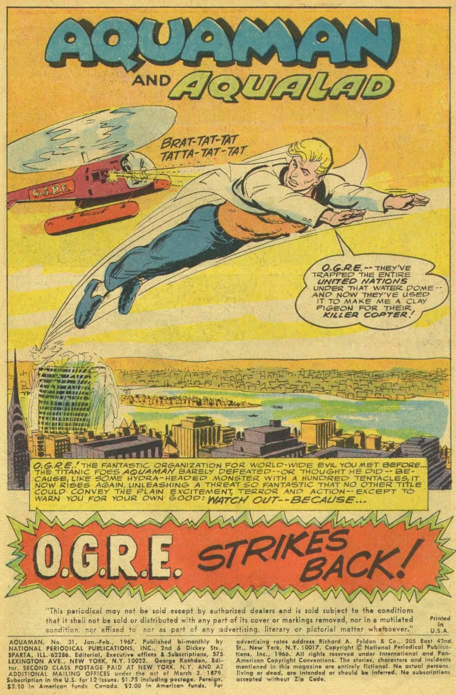Aquaman (1962) Issue #31 #31 - English 3