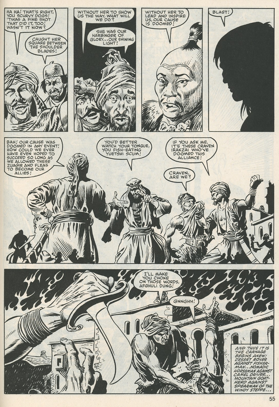 The Savage Sword Of Conan Issue #112 #113 - English 57