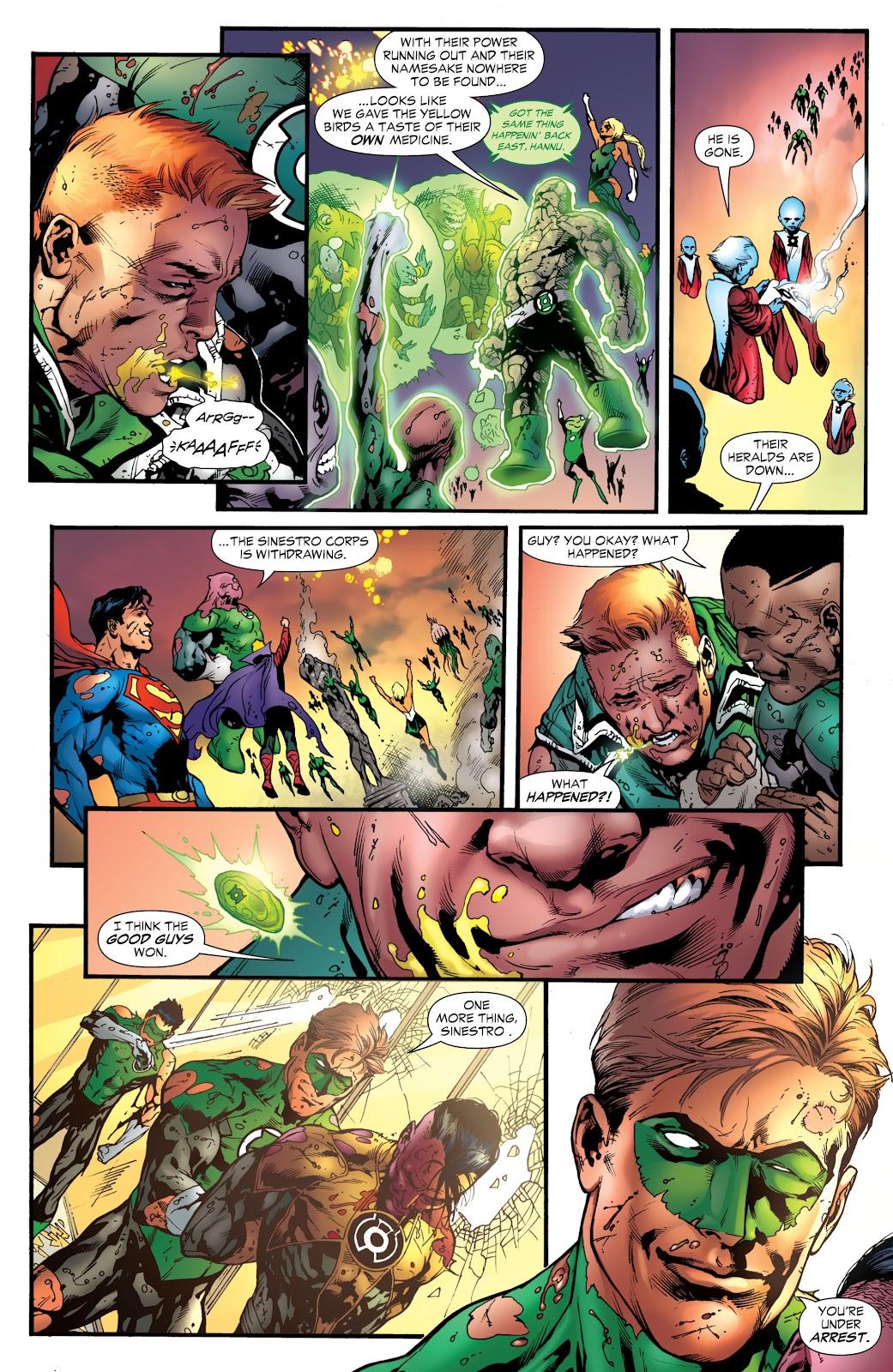 Green Lantern: The Sinestro Corps War Full #1 - English 282