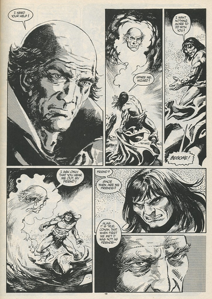 The Savage Sword Of Conan Issue #189 #190 - English 21