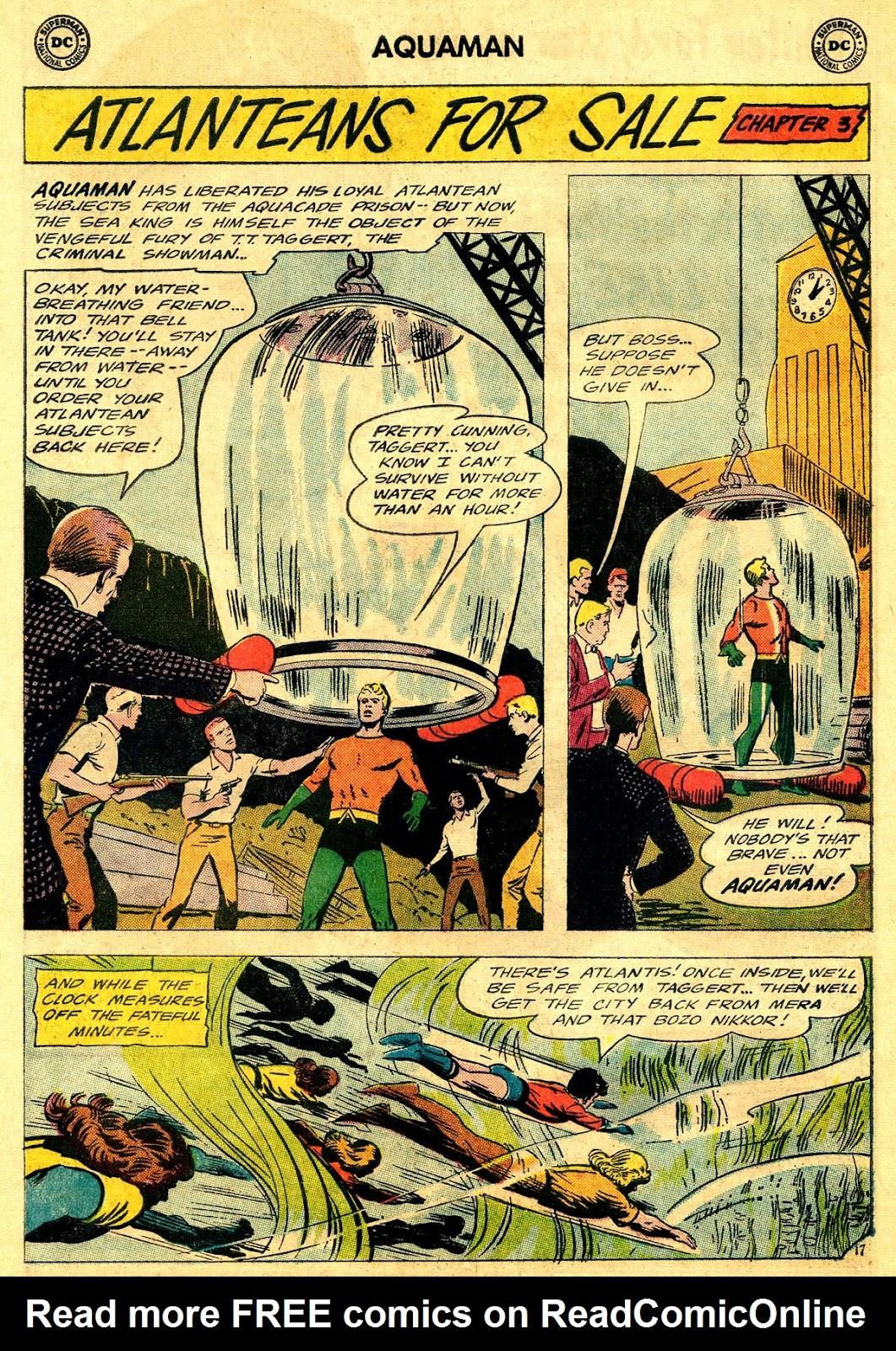 Aquaman (1962) Issue #19 #19 - English 24