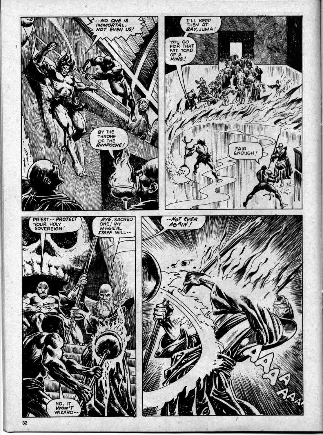 The Savage Sword Of Conan Issue #59 #60 - English 32