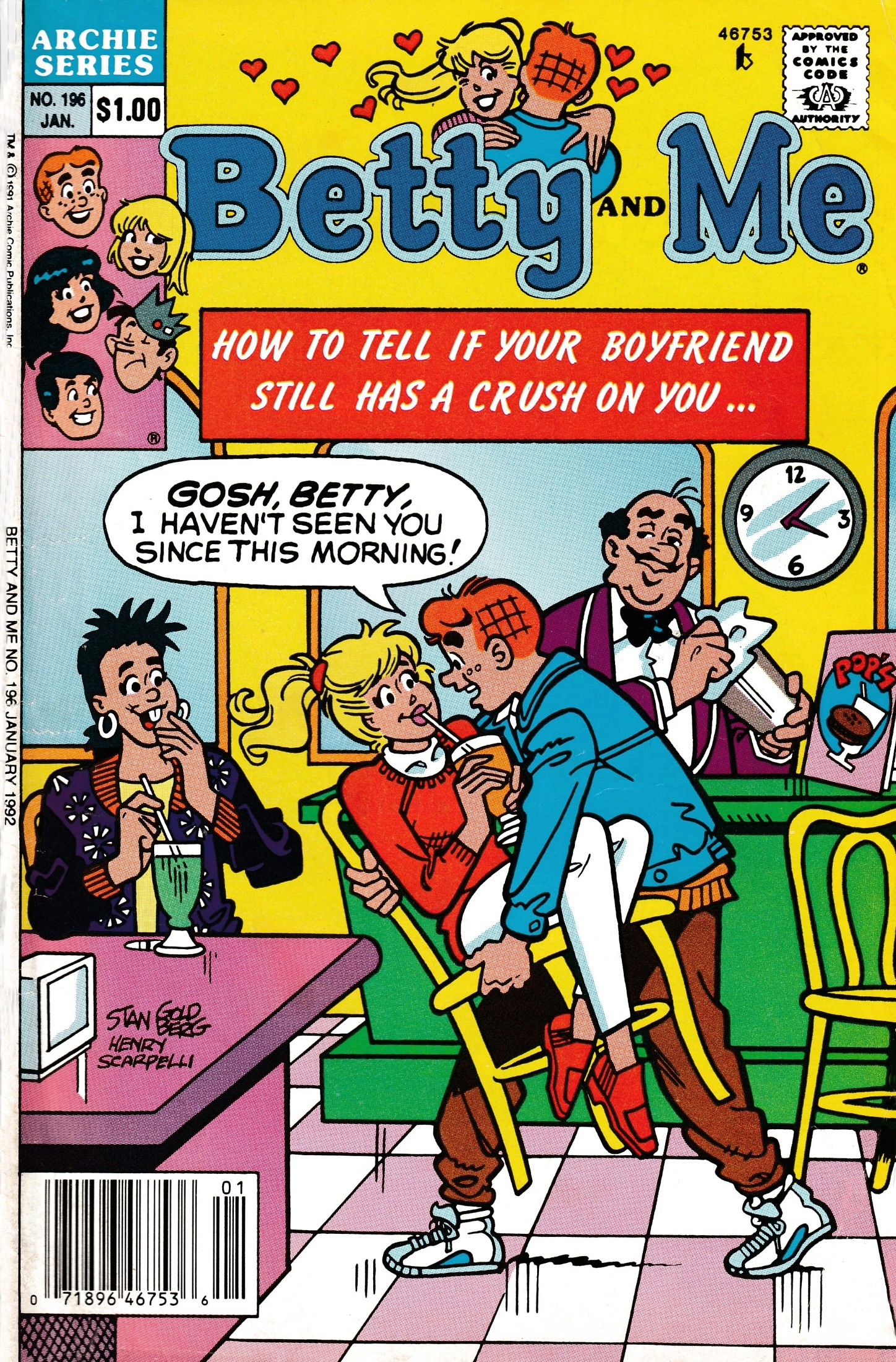 Read online Betty and Me comic -  Issue #196 - 1