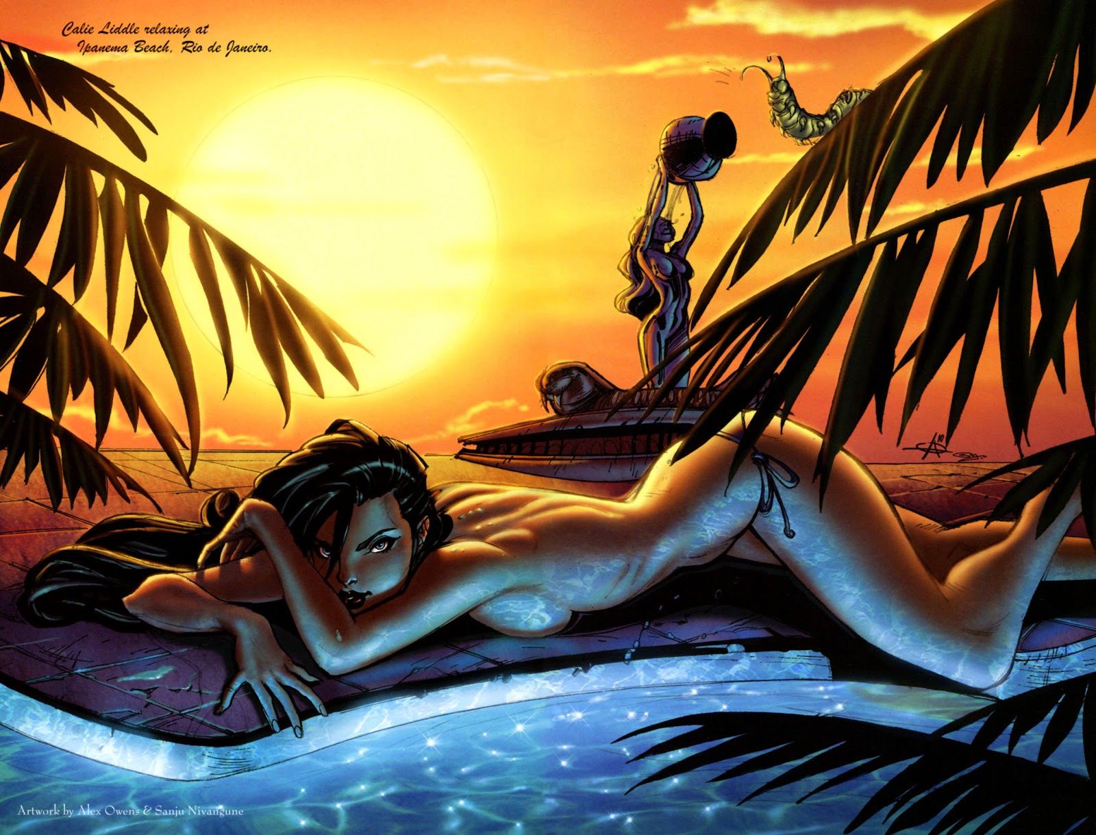 Grimm Fairy Tales: Swimsuit Edition Full #1 - English 4