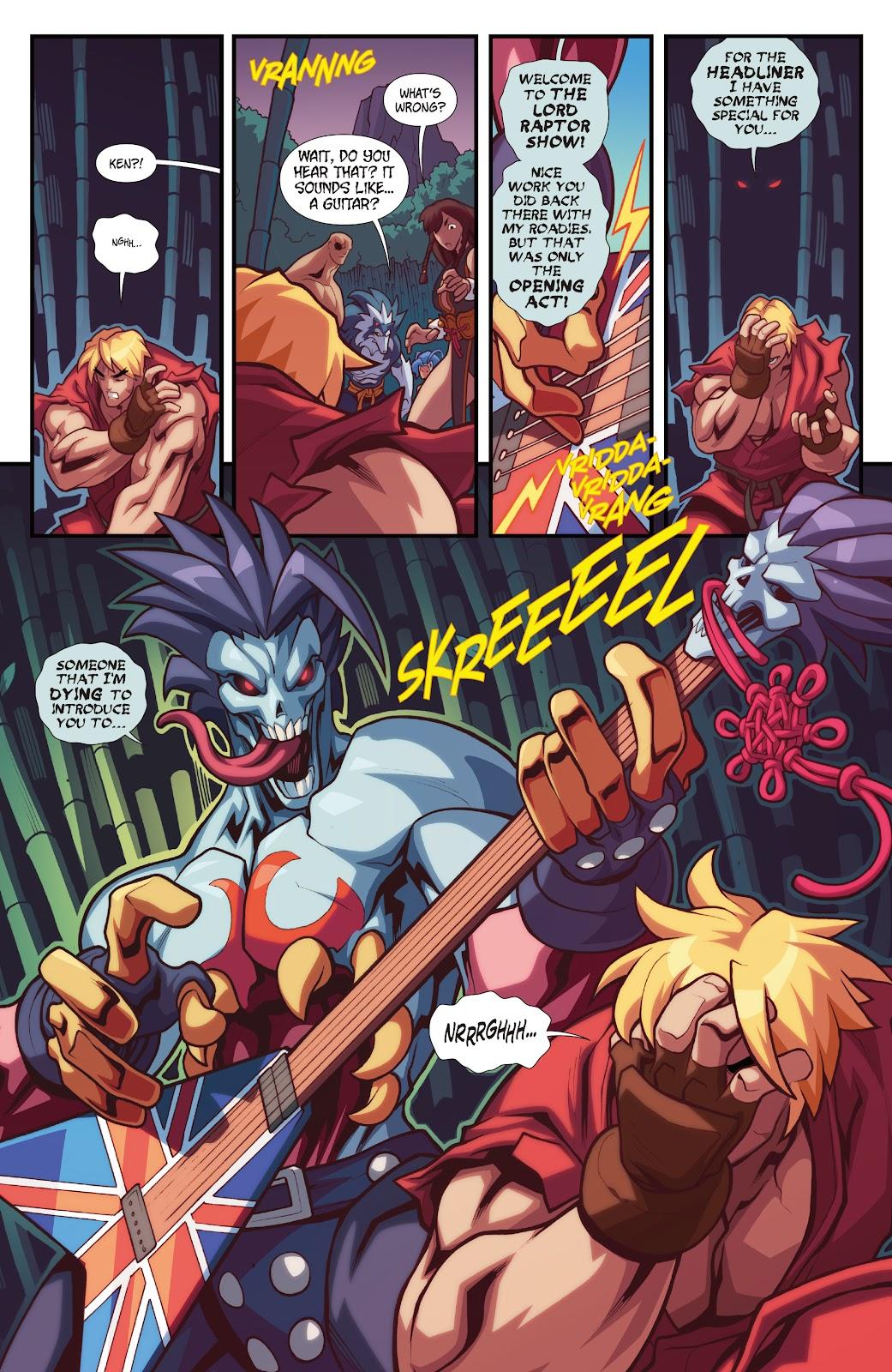 Street Fighter VS Darkstalkers Issue #2 #3 - English 19