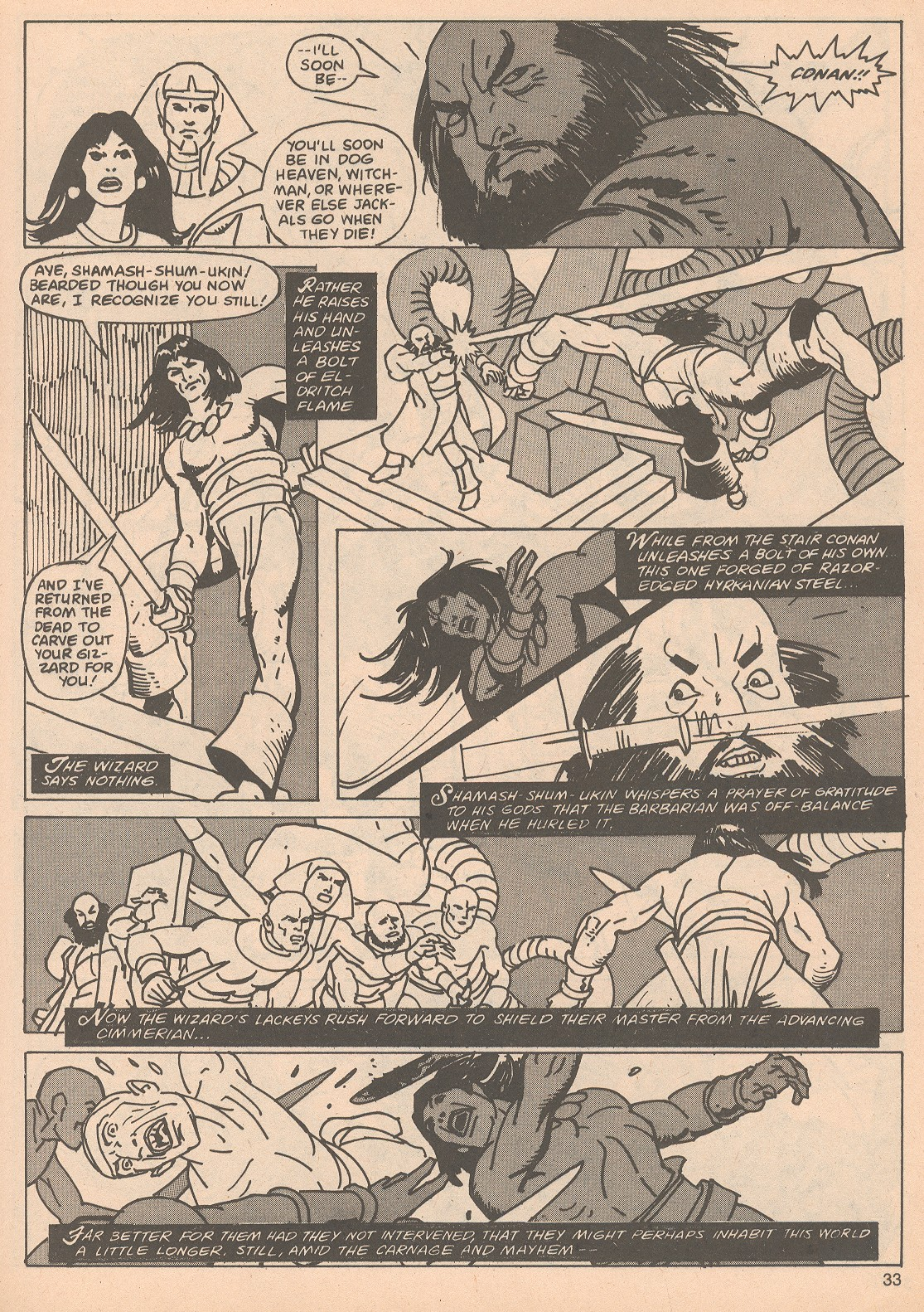 The Savage Sword Of Conan Issue #65 #66 - English 33