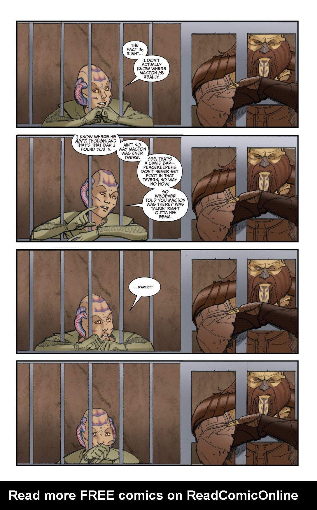 Read online Farscape: D'Argo's Quest comic -  Issue #4 - 9