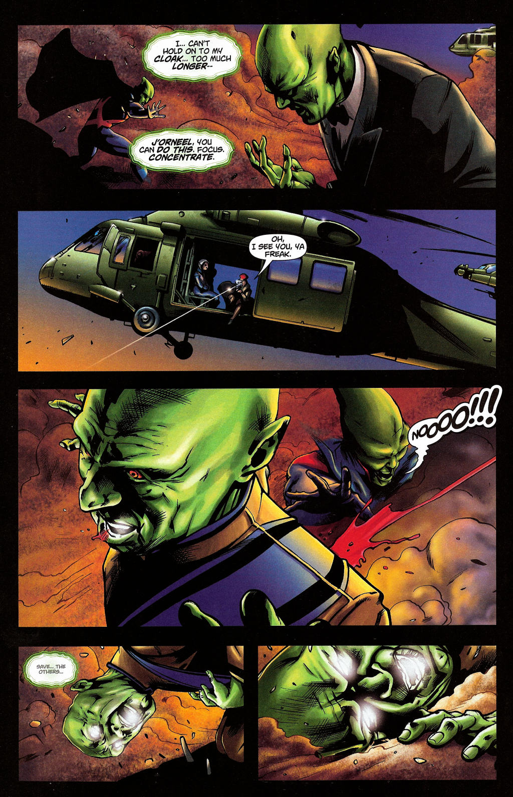 Read online Martian Manhunter (2006) comic -  Issue #4 - 39
