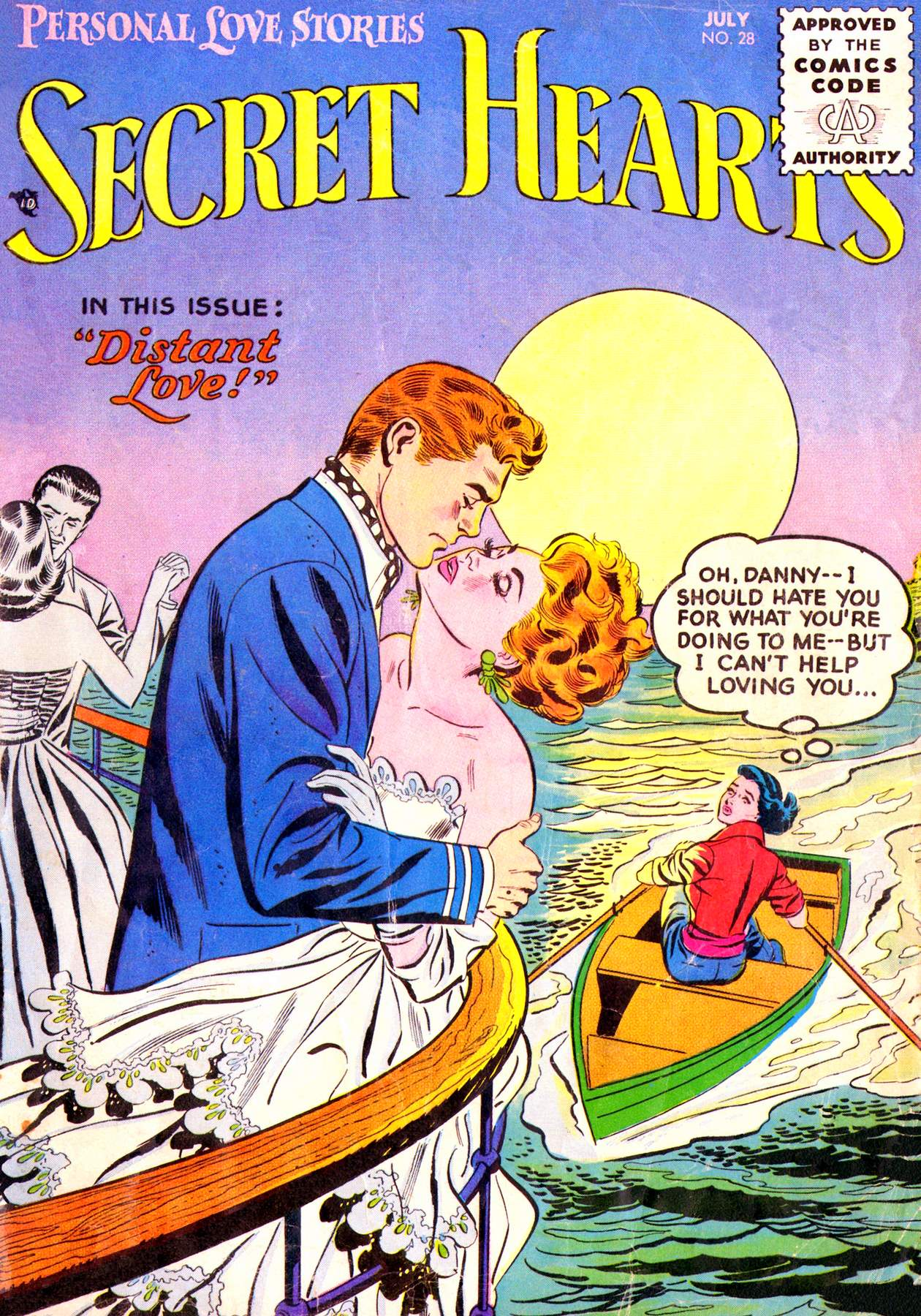 Read online Secret Hearts comic -  Issue #28 - 1