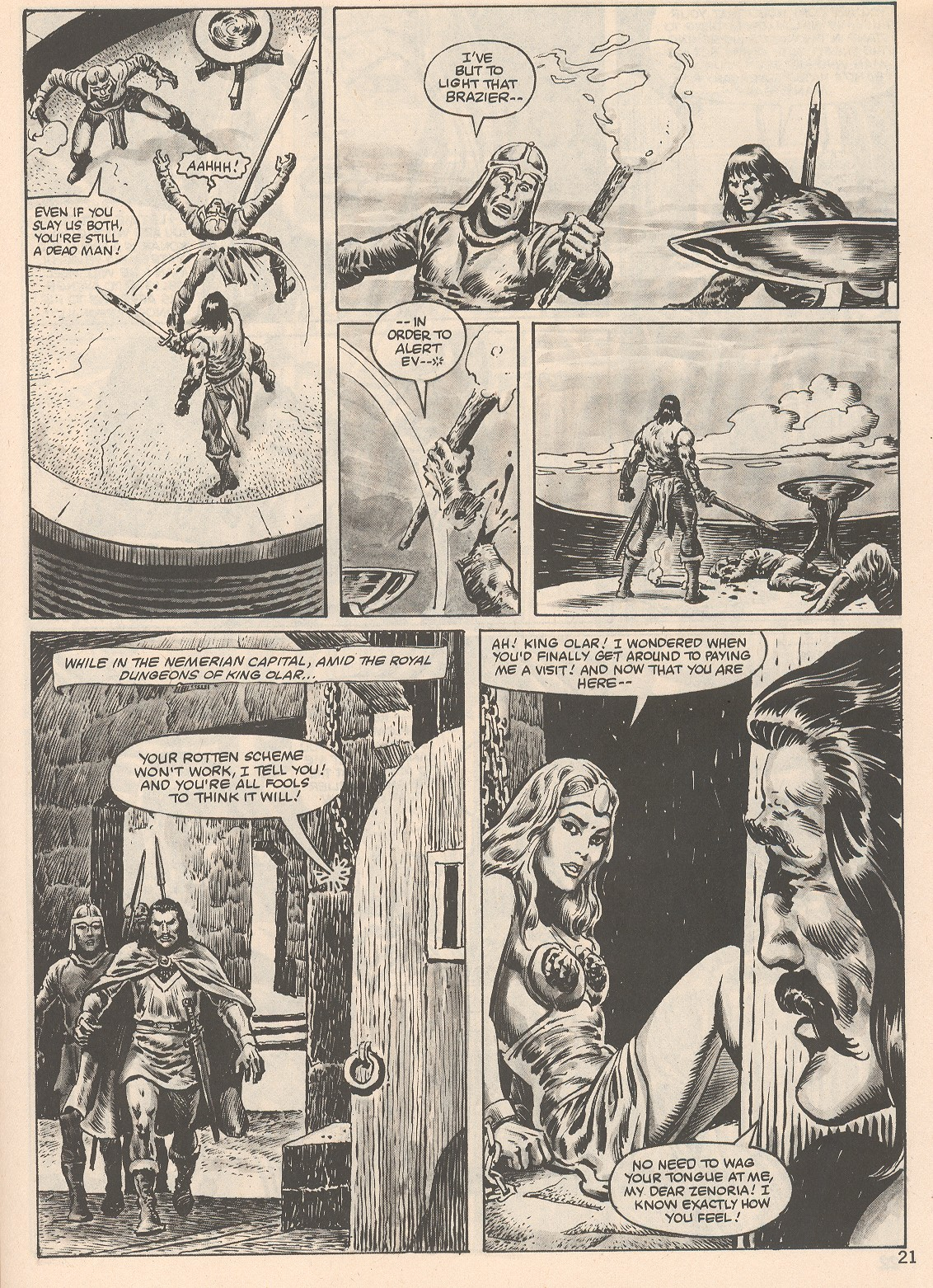 The Savage Sword Of Conan Issue #104 #105 - English 21