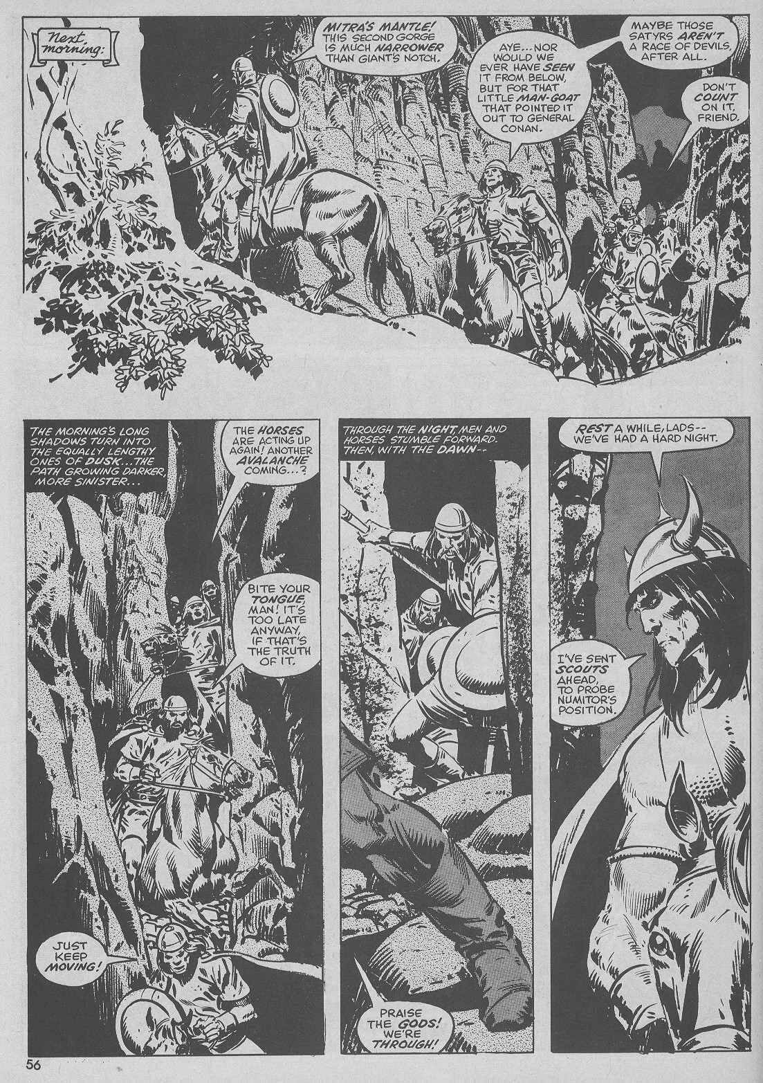 The Savage Sword Of Conan Issue #51 #52 - English 56