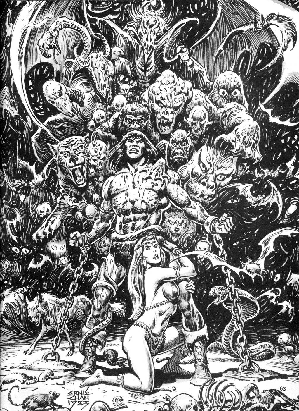 The Savage Sword Of Conan Issue #94 #95 - English 62