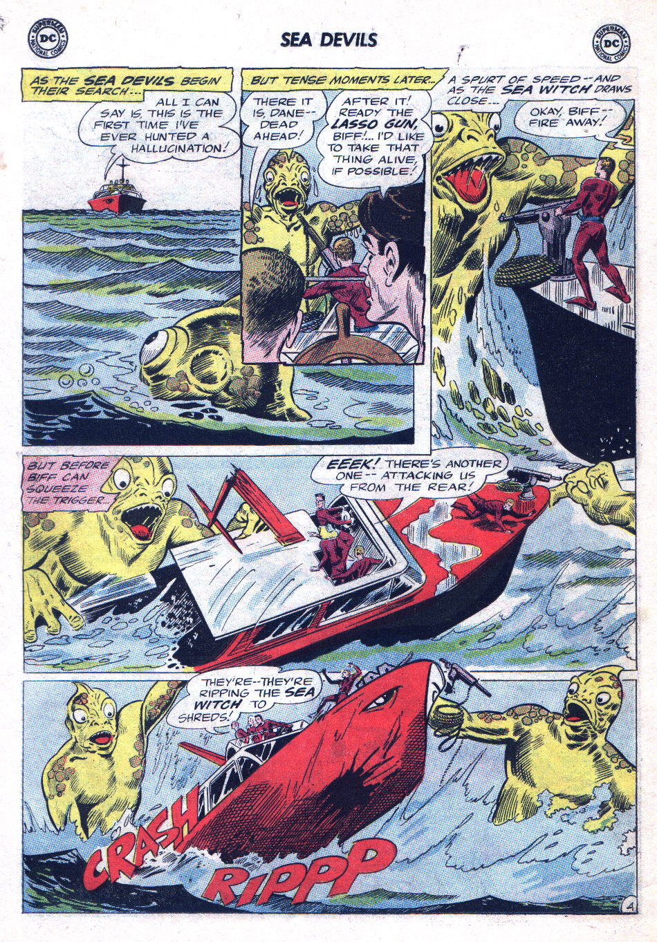 Read online Sea Devils comic -  Issue #20 - 6