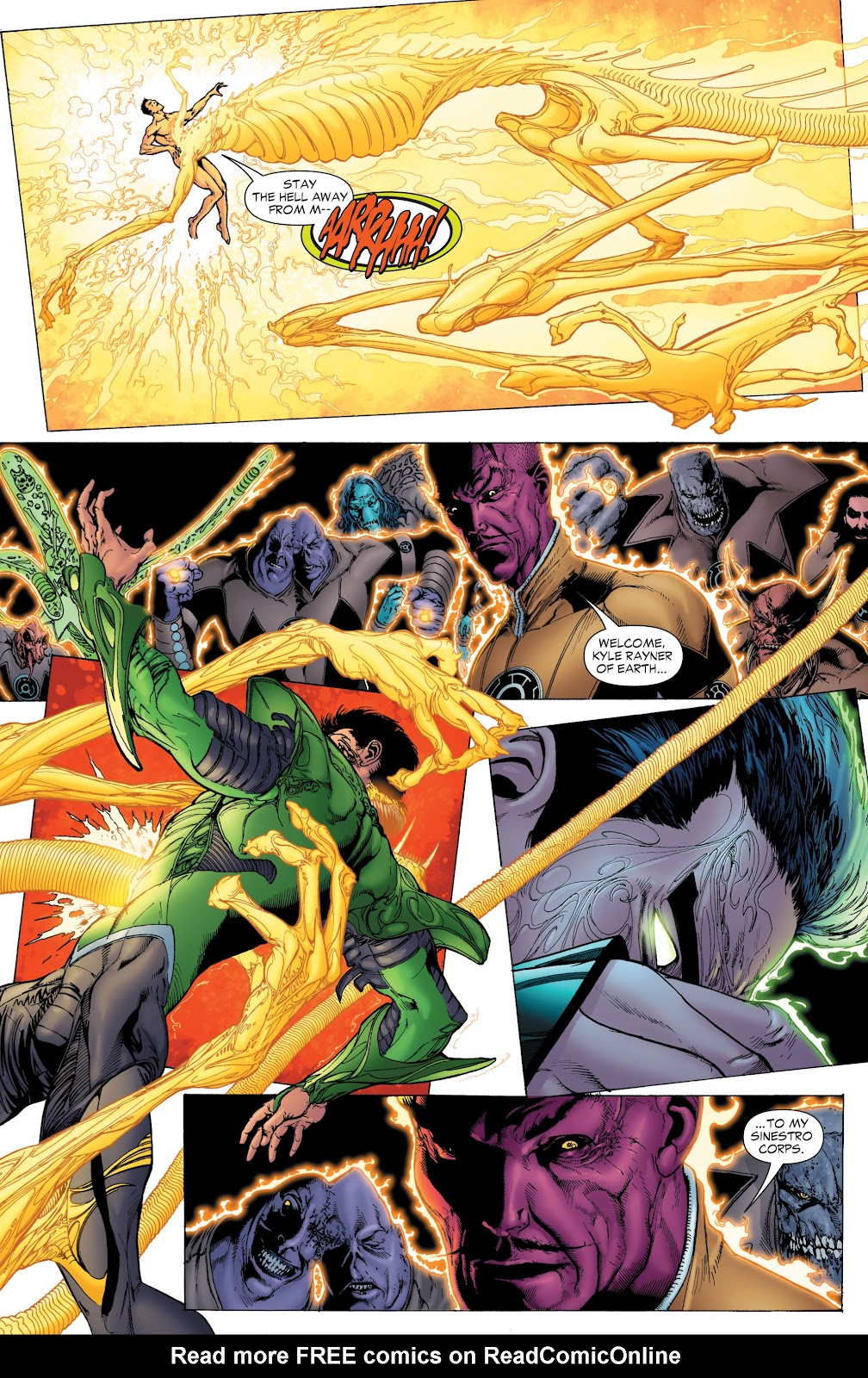 Green Lantern: The Sinestro Corps War Full #1 - English 45