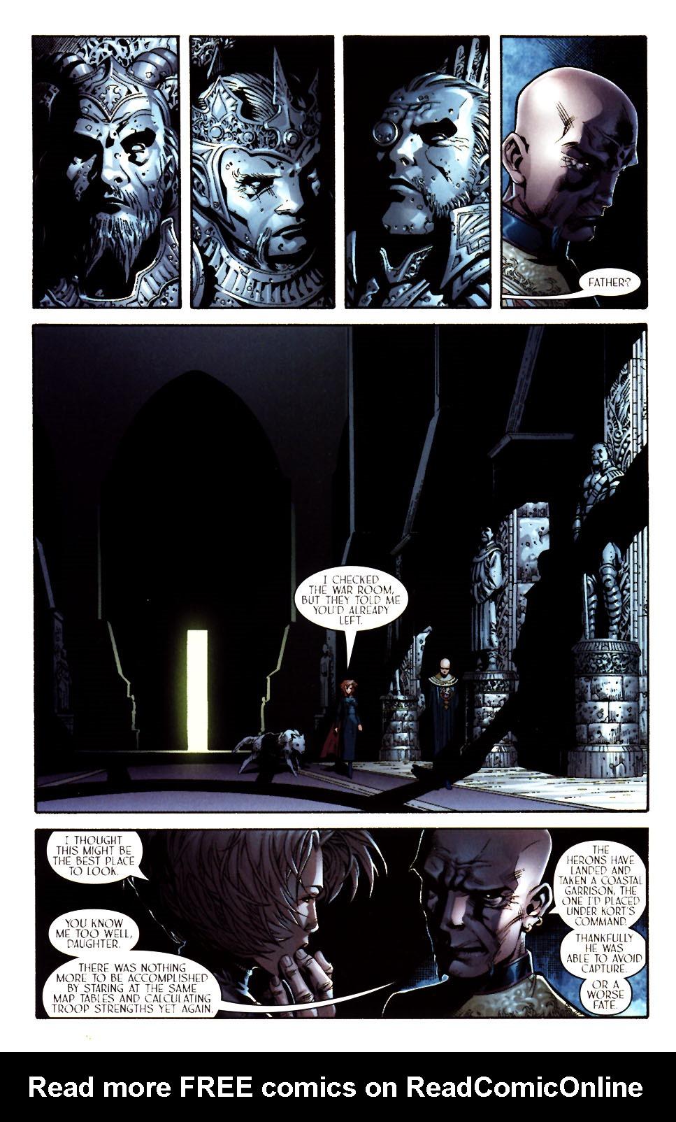 Read online Scion comic -  Issue #11 - 14