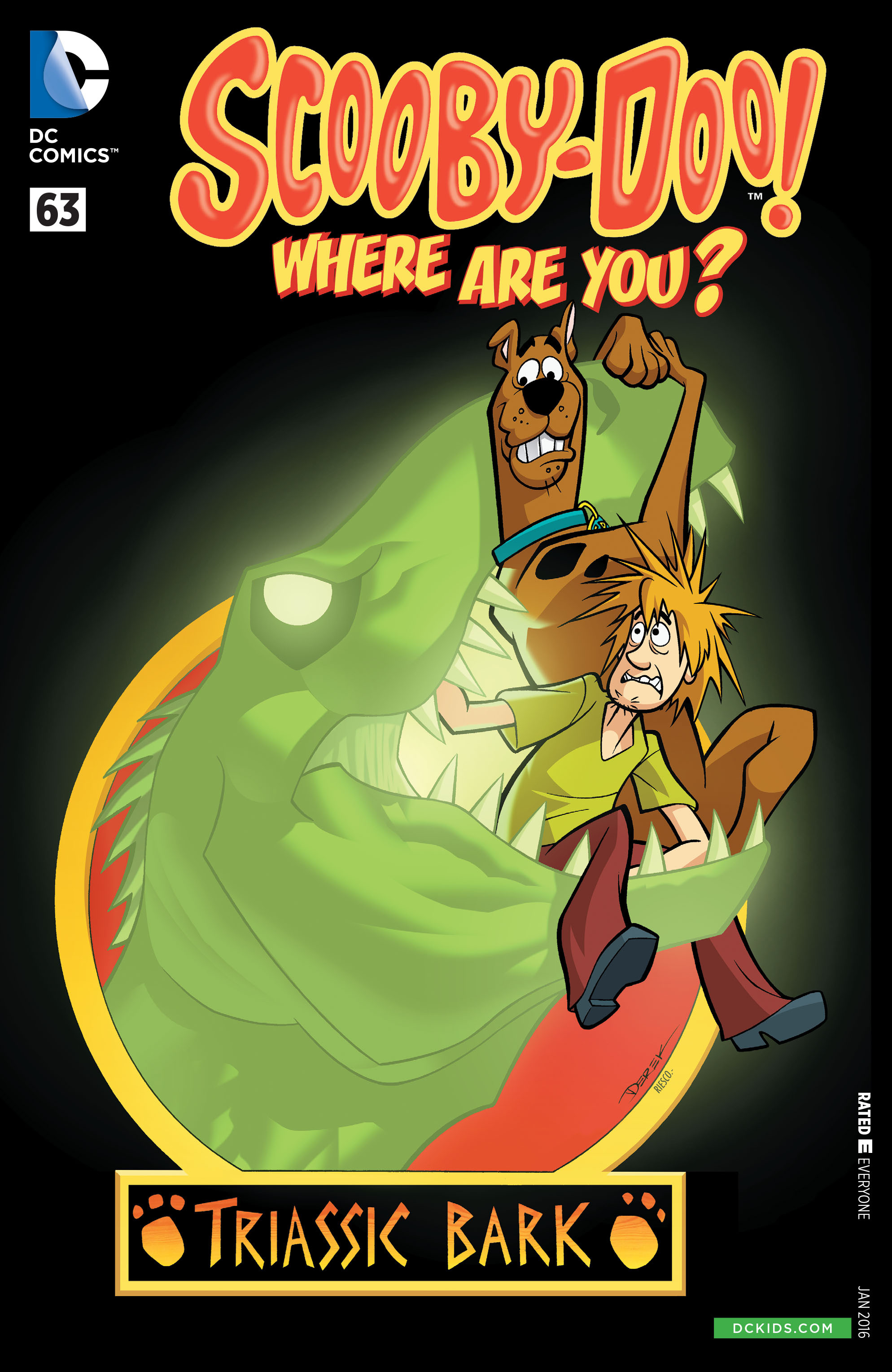 Read online Scooby-Doo: Where Are You? comic -  Issue #63 - 1