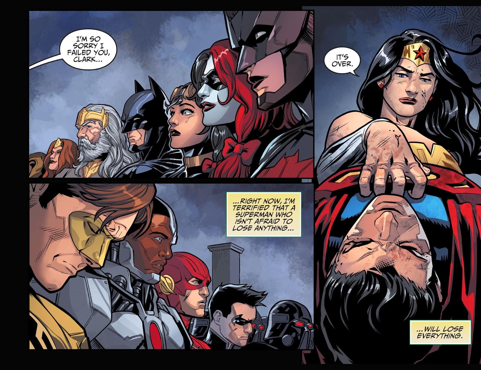 Injustice: Gods Among Us Year Four Issue #9 #10 - English 20