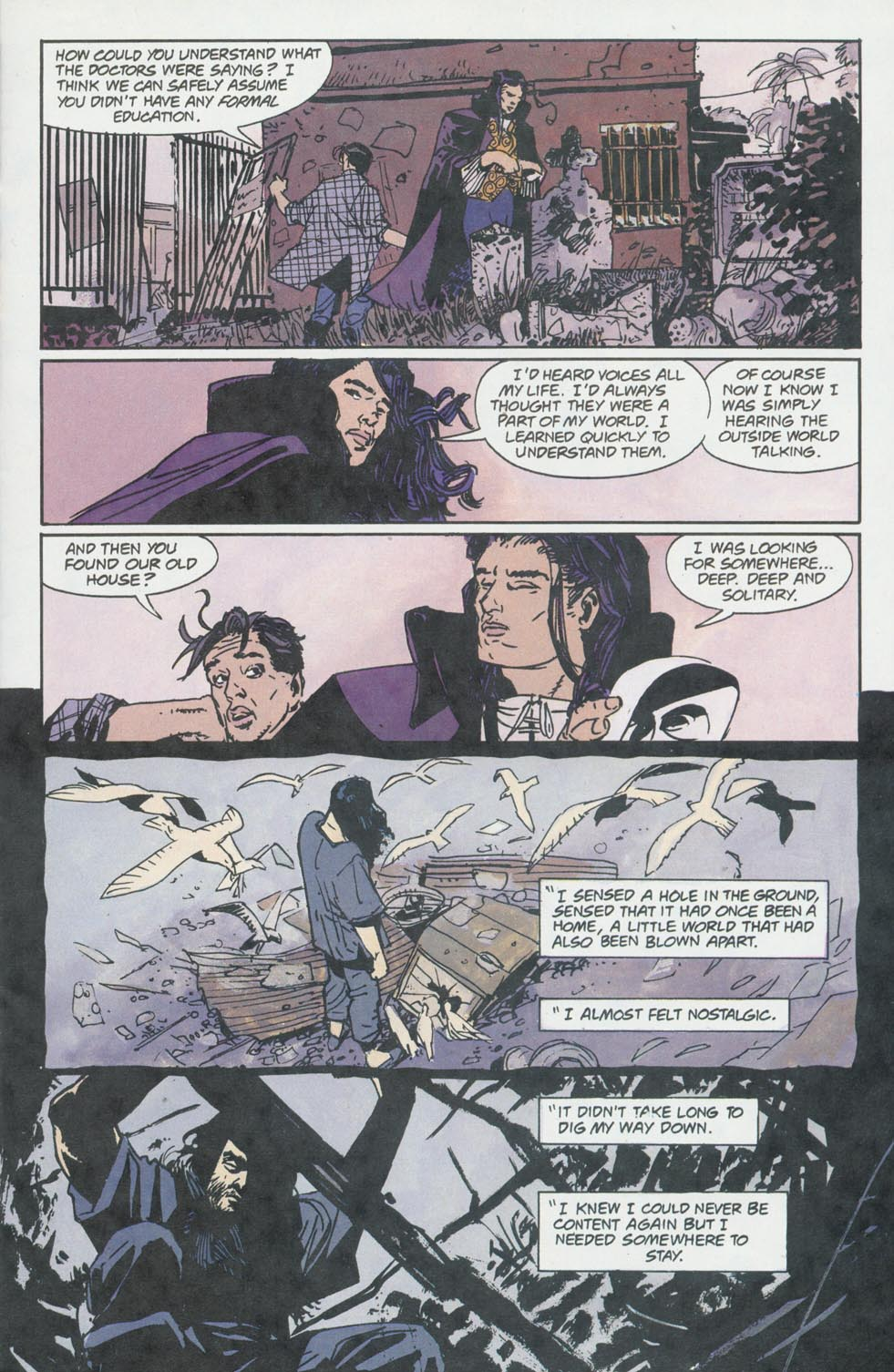 Read online Enigma comic -  Issue #8 - 9