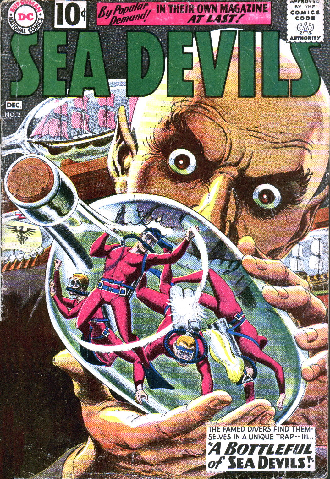 Read online Sea Devils comic -  Issue #2 - 2