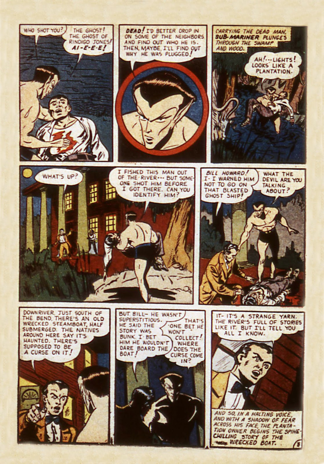 Sub-Mariner Comics Issue #7 #7 - English 48