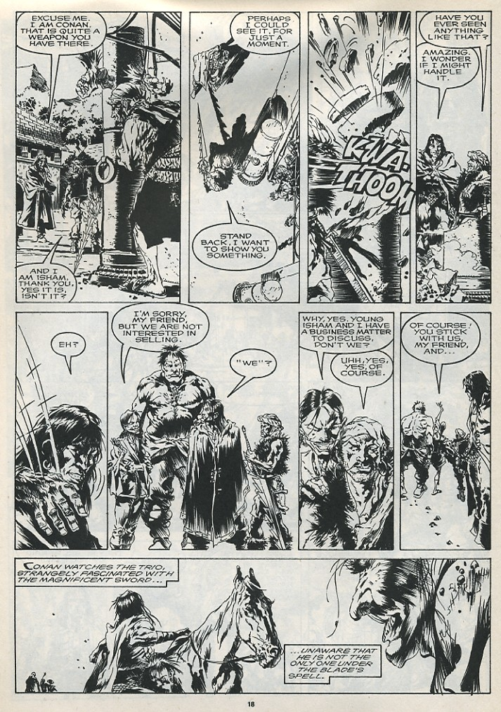 The Savage Sword Of Conan Issue #175 #176 - English 20