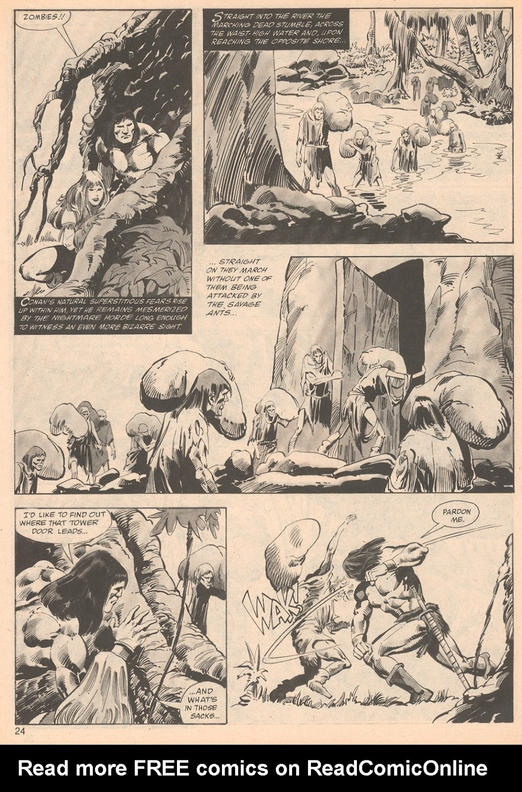 The Savage Sword Of Conan Issue #70 #71 - English 24
