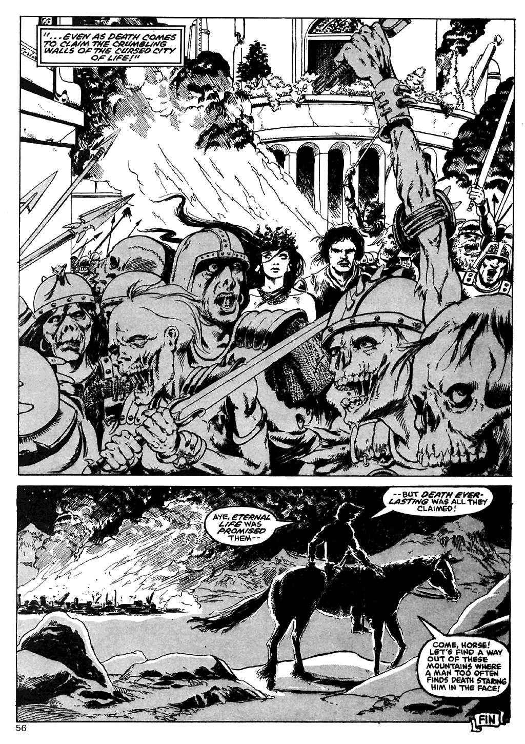 The Savage Sword Of Conan Issue #110 #111 - English 54