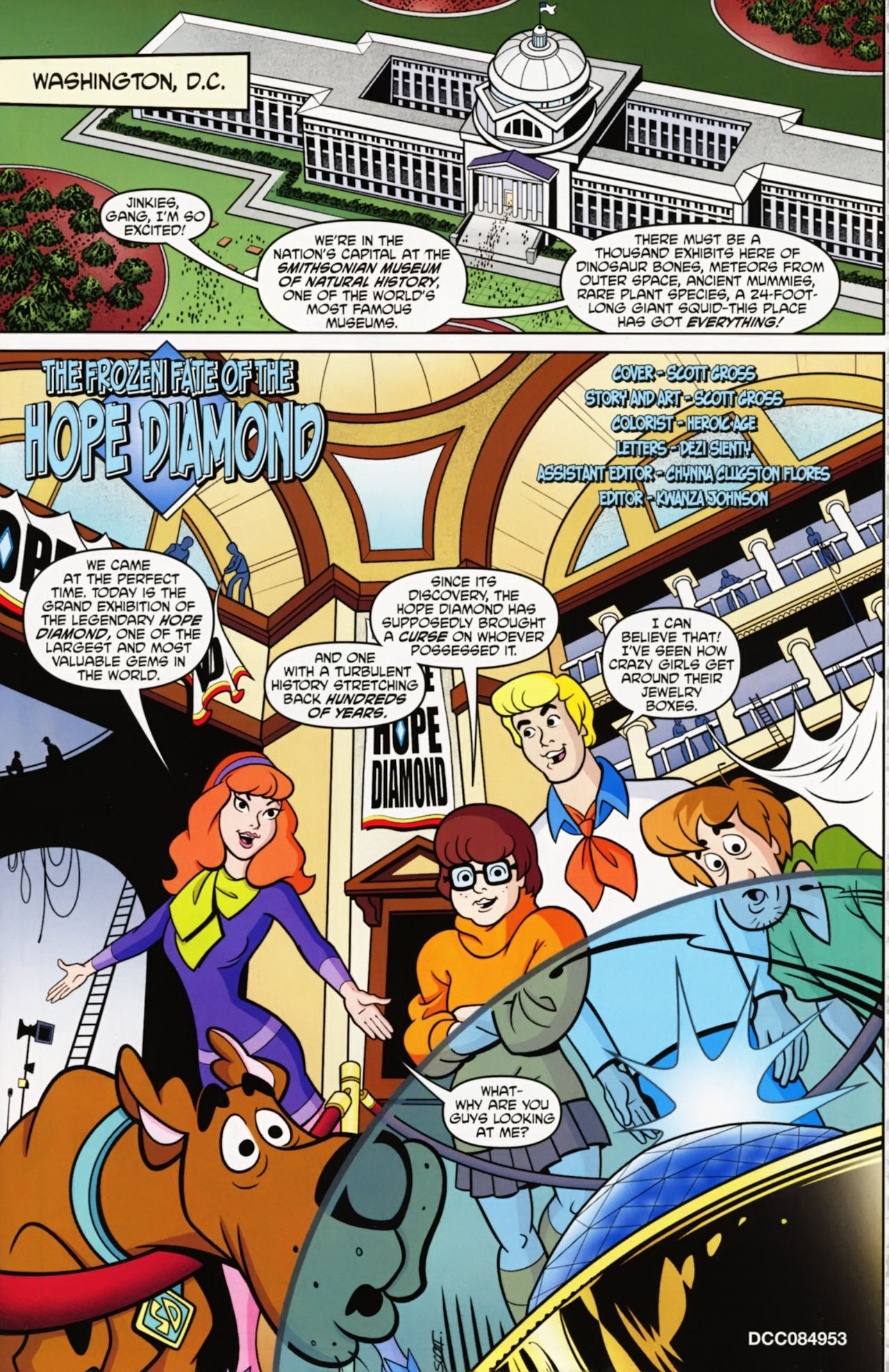 Read online Scooby-Doo: Where Are You? comic -  Issue #12 - 3