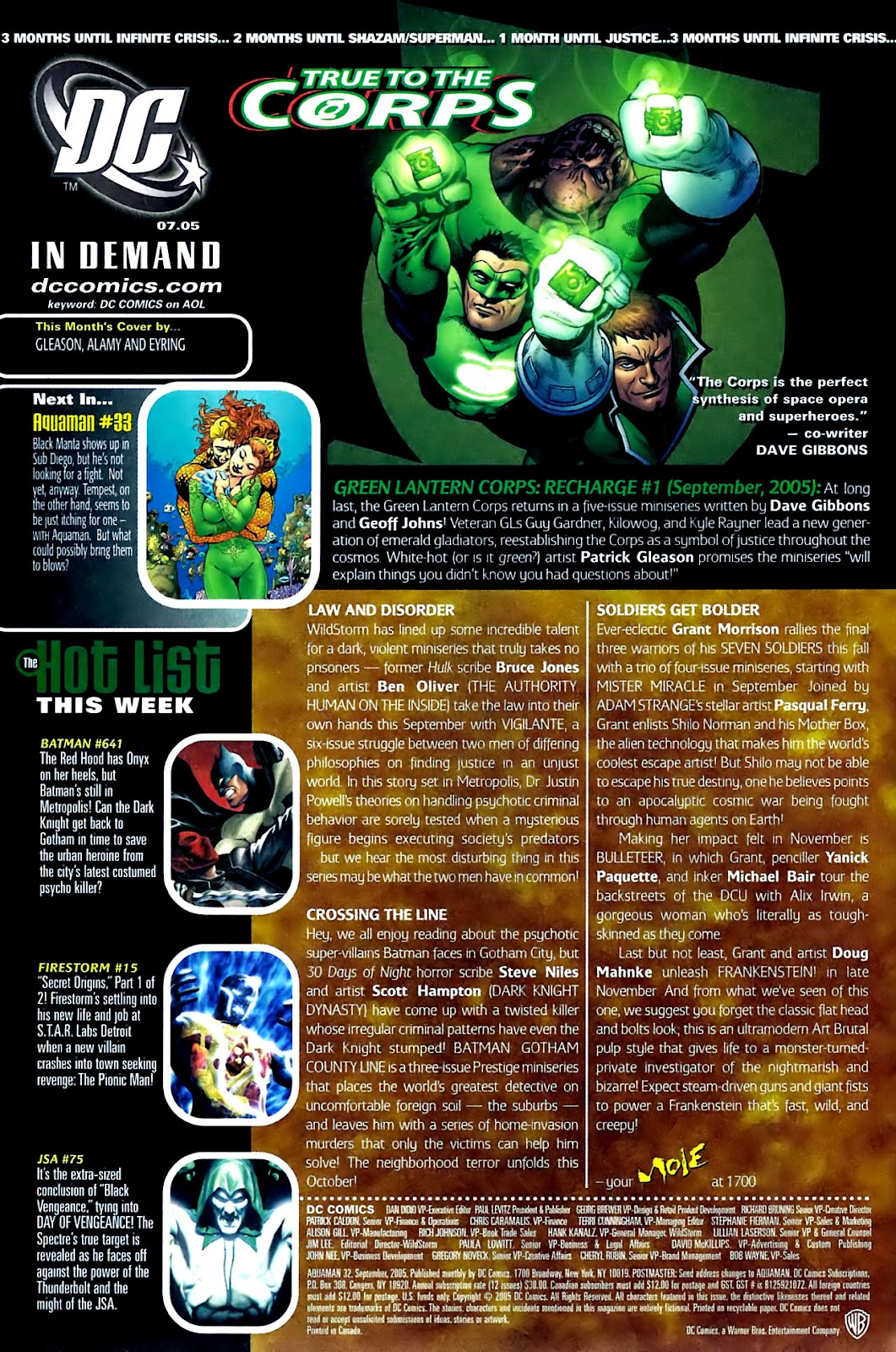 Aquaman (2003) Issue #32 #32 - English 25