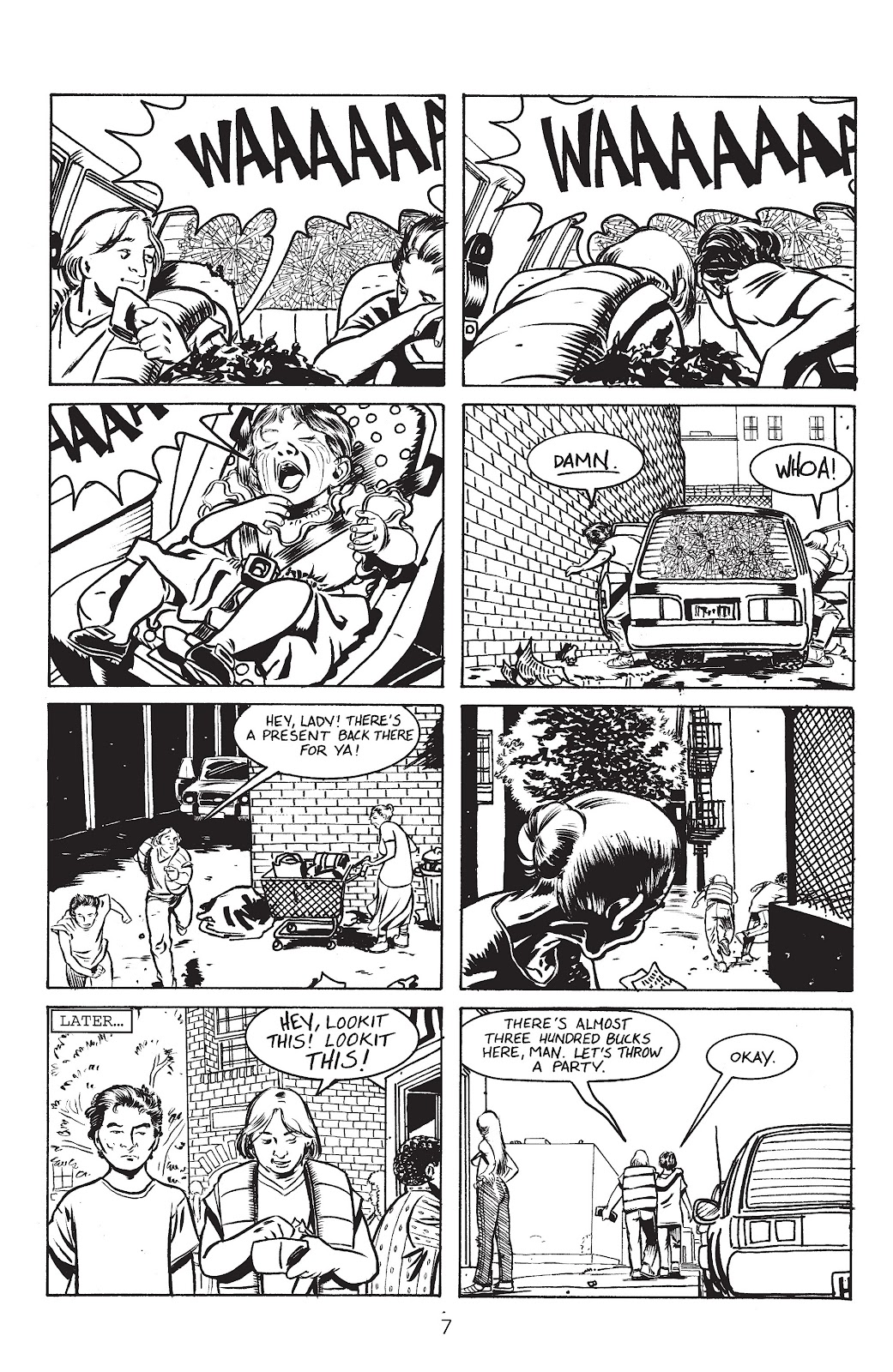 Stray Bullets Issue #3 #3 - English 9