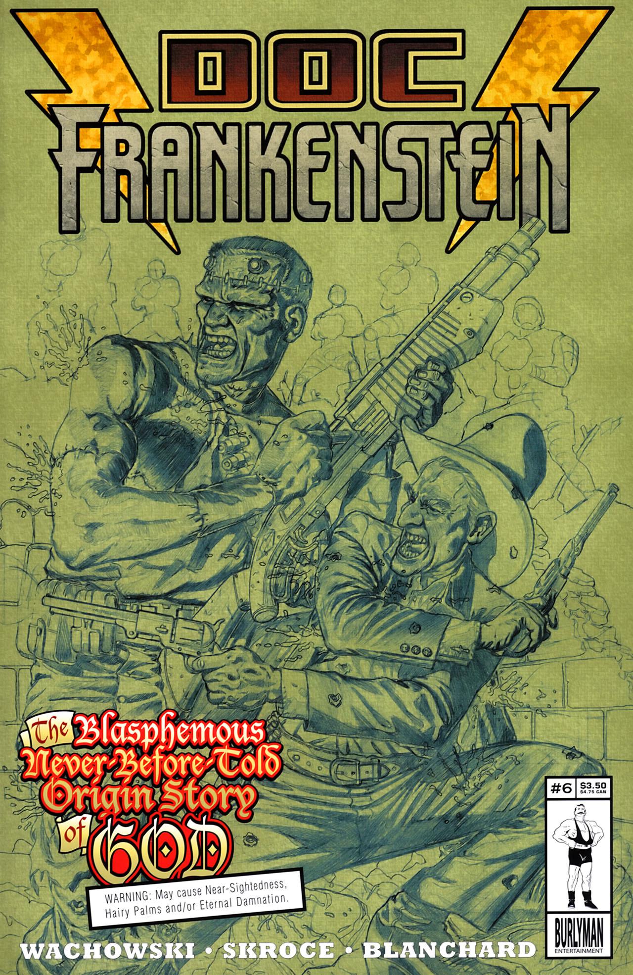 Doc Frankenstein 6 Page 1