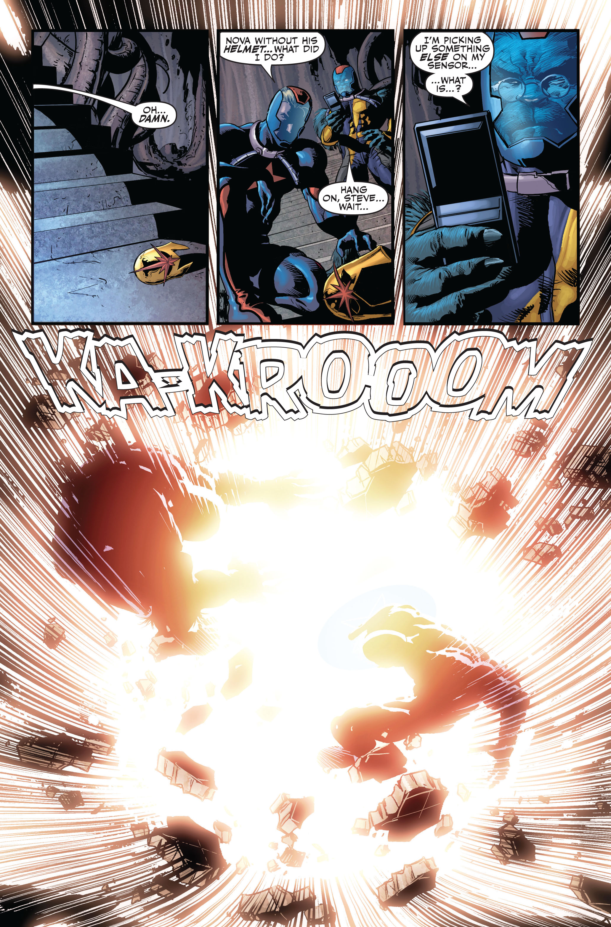 Read online Secret Avengers (2010) comic -  Issue #2 - 19
