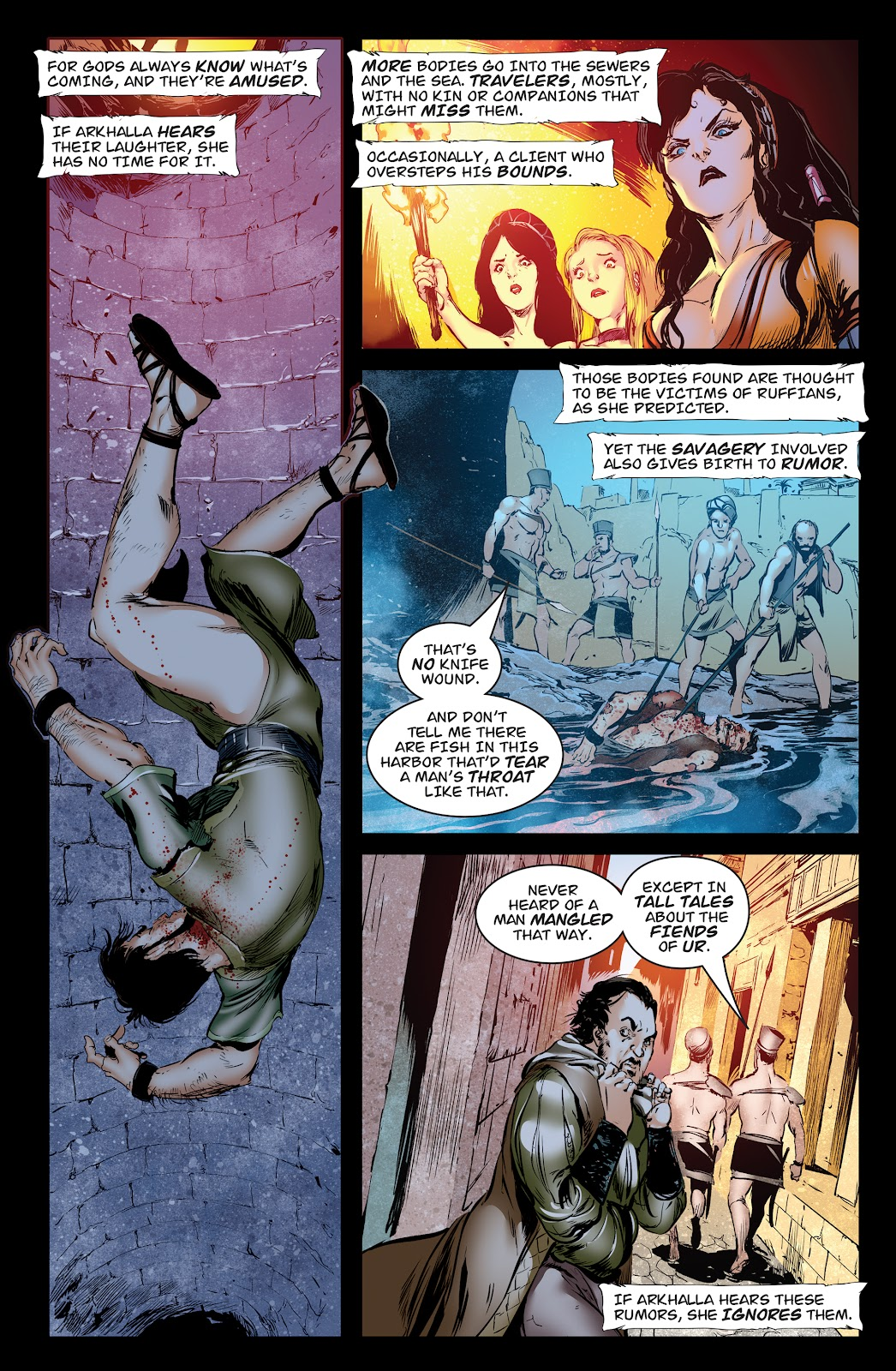 Queen of Vampires Issue #7 #7 - English 7